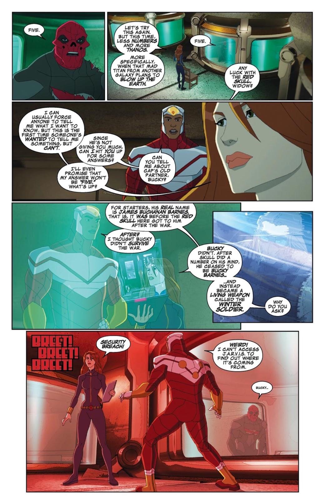 Read online Marvel Universe Avengers Assemble Season 2 comic -  Issue #4 - 6