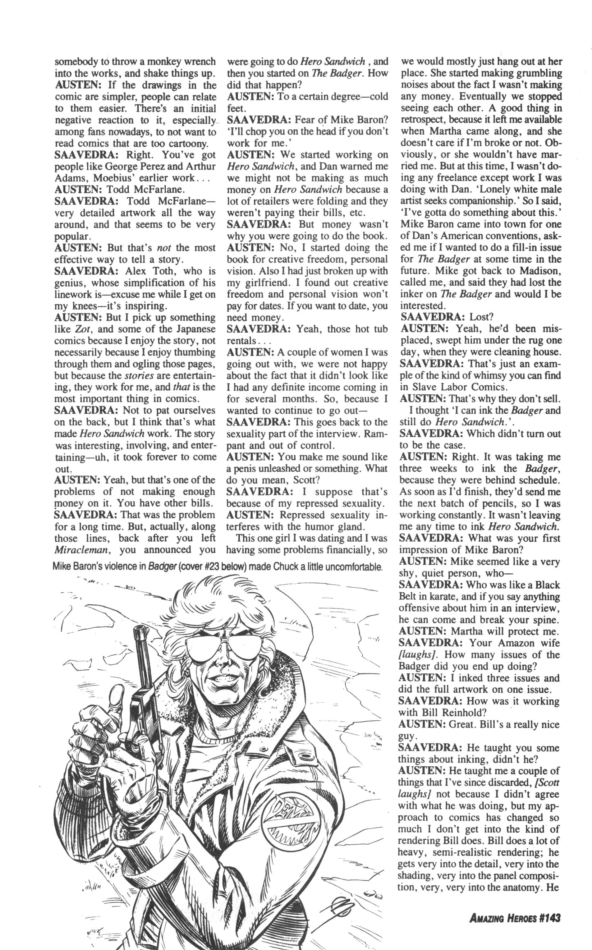 Read online Amazing Heroes comic -  Issue #143 - 20