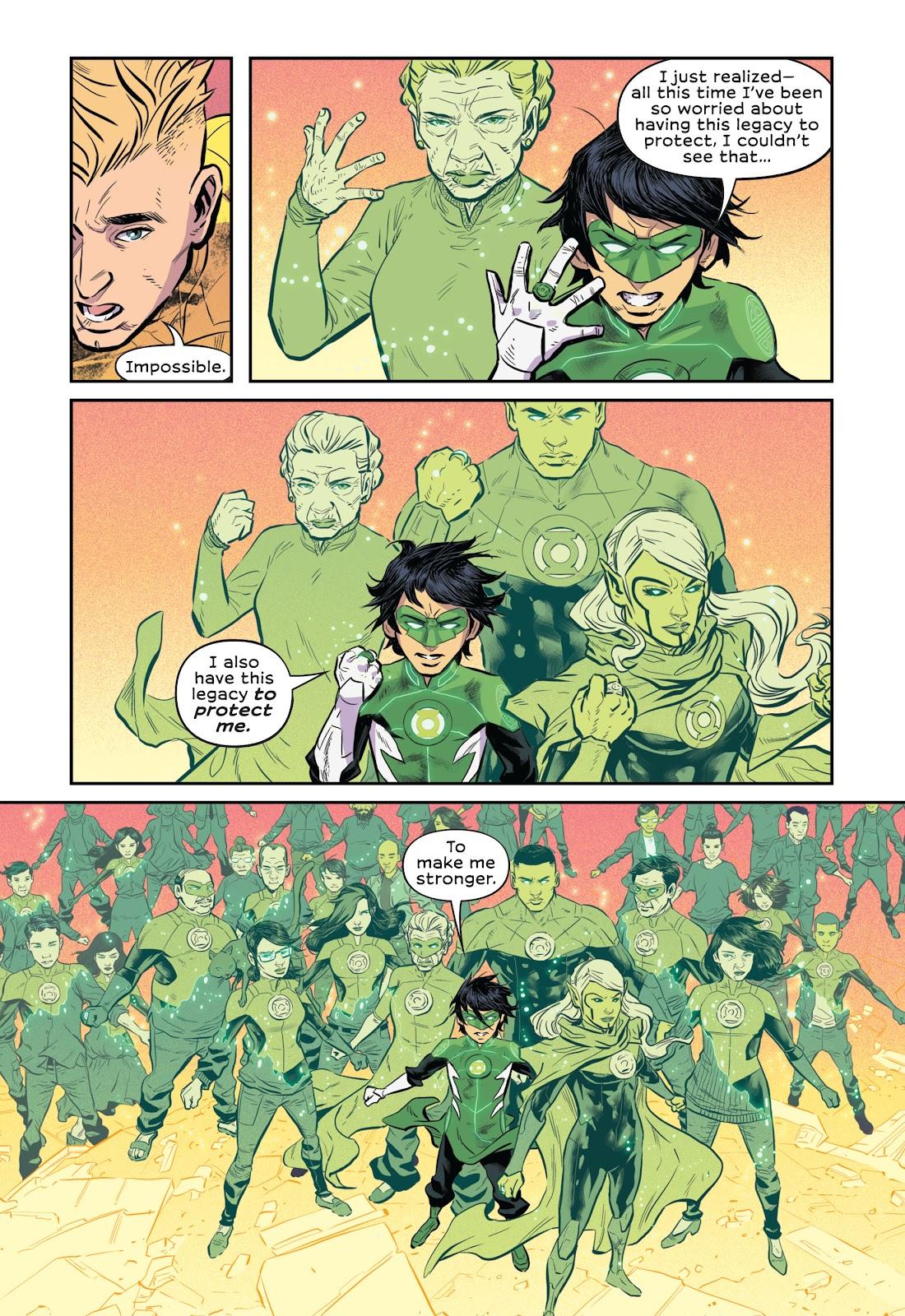 Read online Green Lantern: Legacy comic -  Issue # TPB - 117