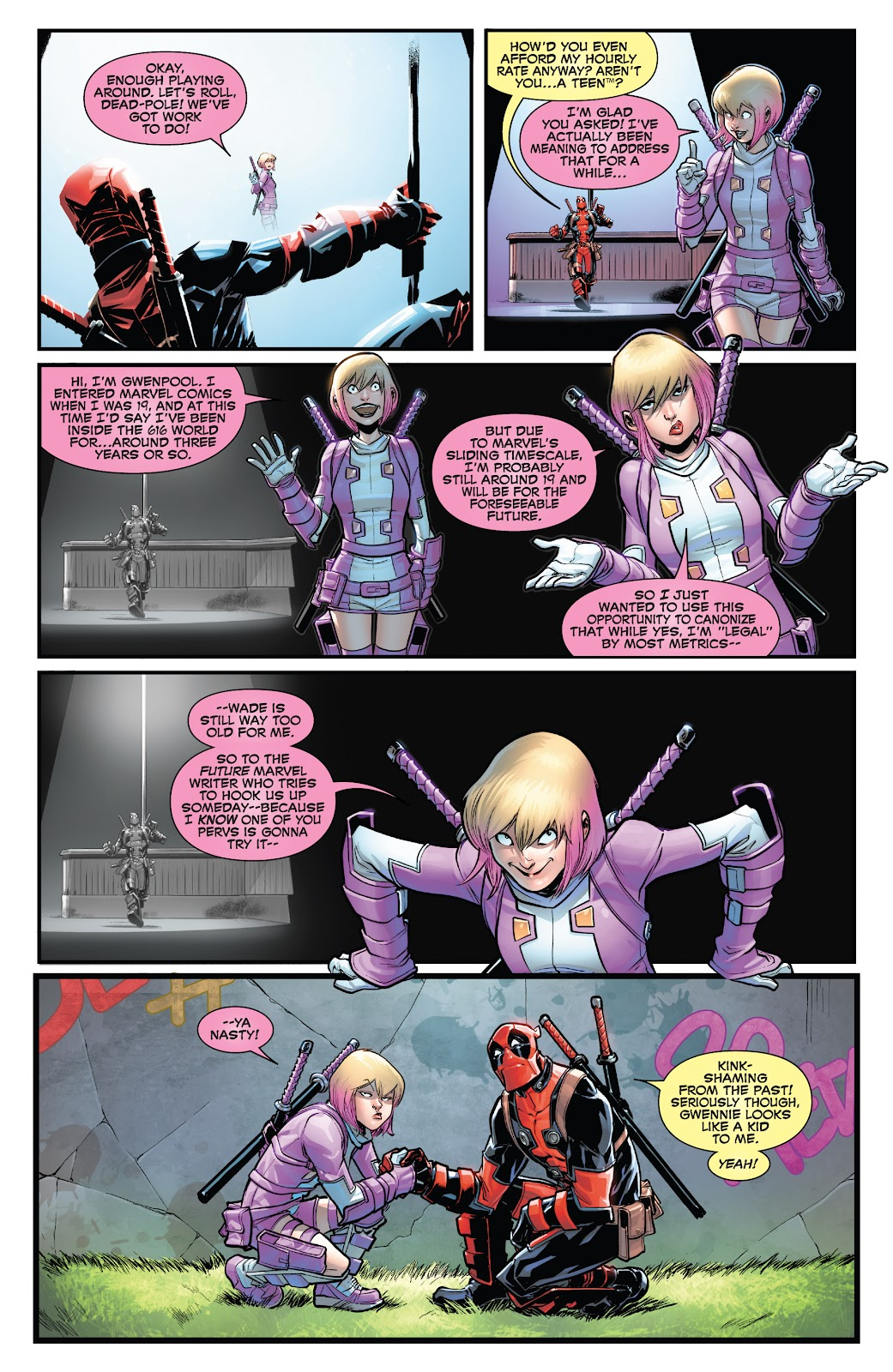 Gwenpool Strikes Back issue 2 - Page 6