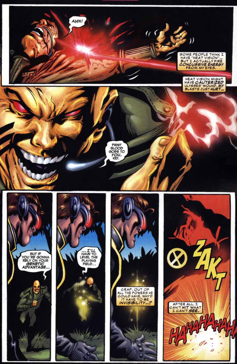 Read online Cyclops (2001) comic -  Issue #2 - 12