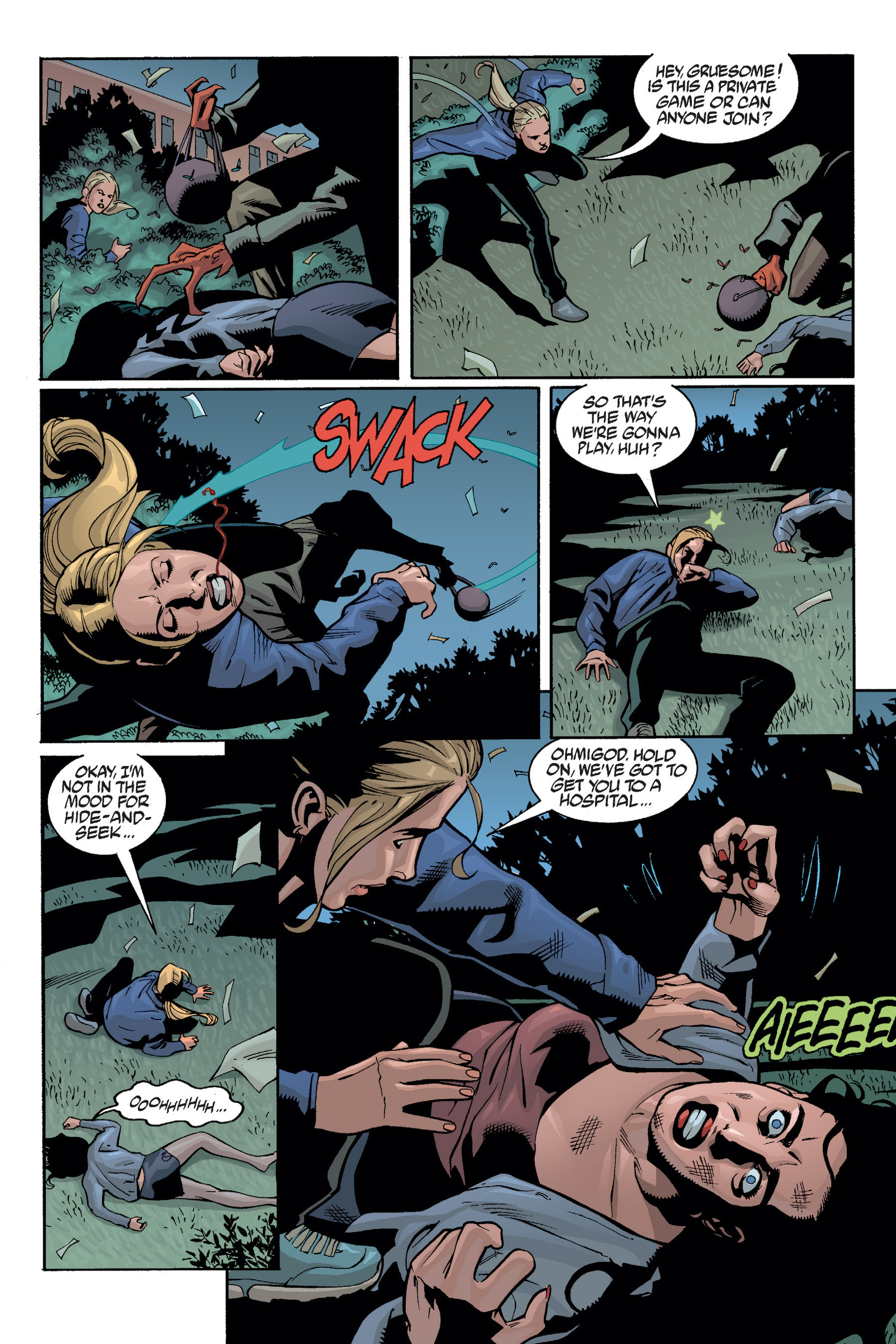 Read online Buffy the Vampire Slayer: Omnibus comic -  Issue # TPB 5 - 100