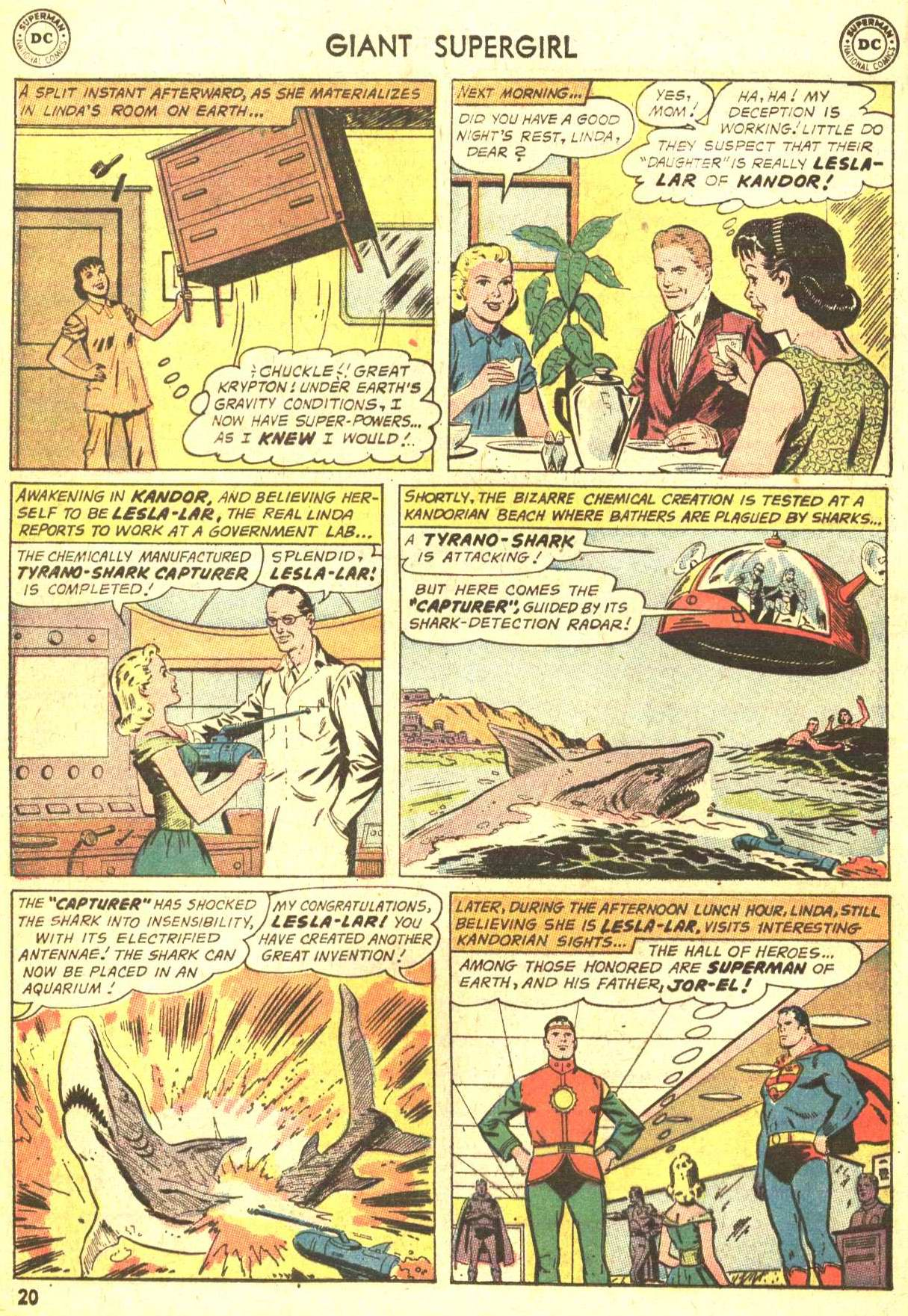 Read online Action Comics (1938) comic -  Issue #360 - 20