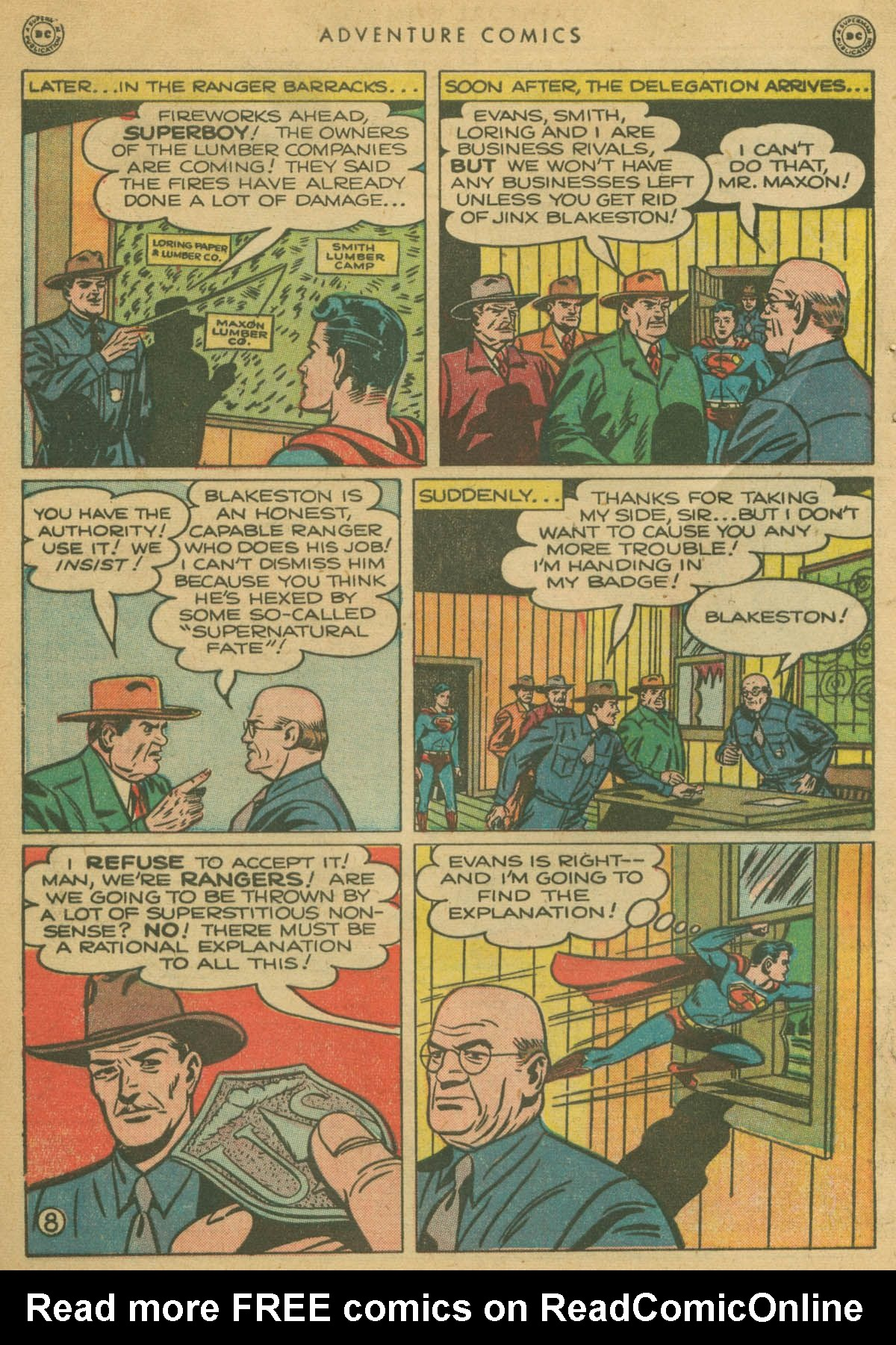 Read online Adventure Comics (1938) comic -  Issue #142 - 9