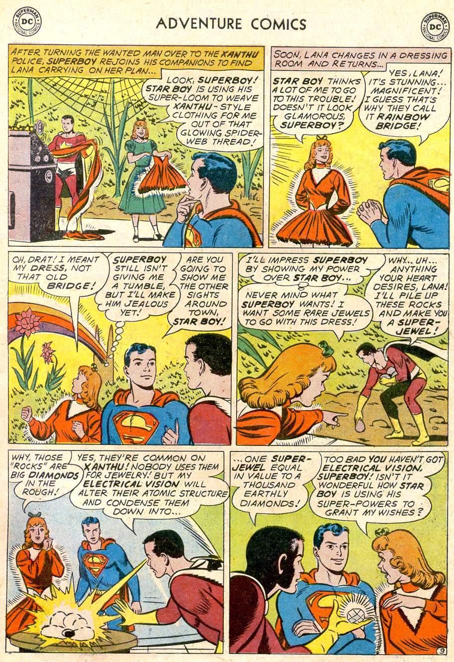 Read online Adventure Comics (1938) comic -  Issue #282 - 11