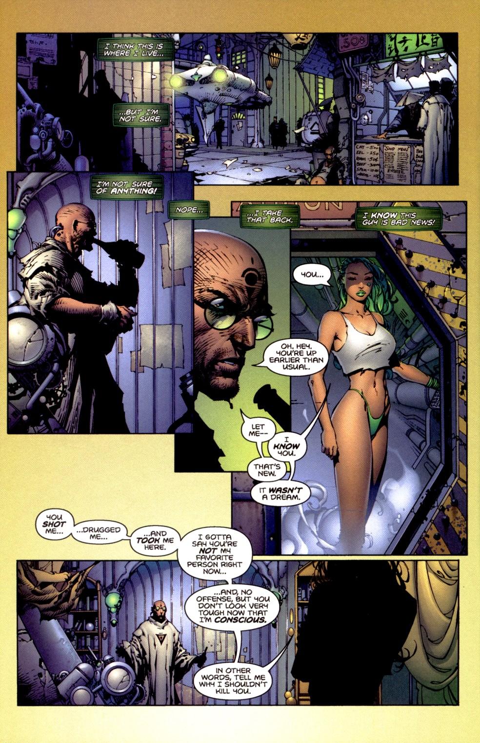Read online Aphrodite IX (2000) comic -  Issue #1 - 11