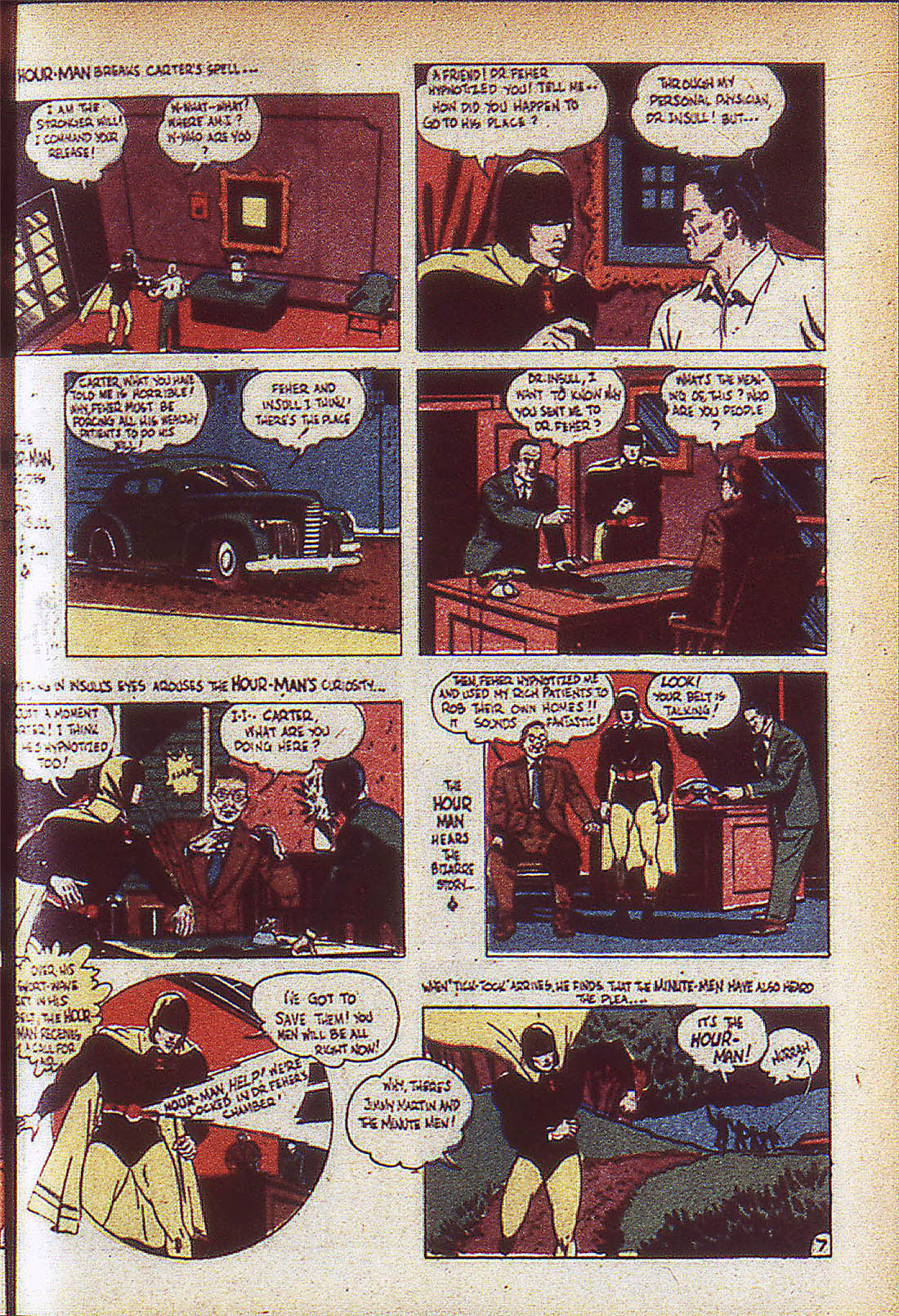Read online Adventure Comics (1938) comic -  Issue #59 - 10