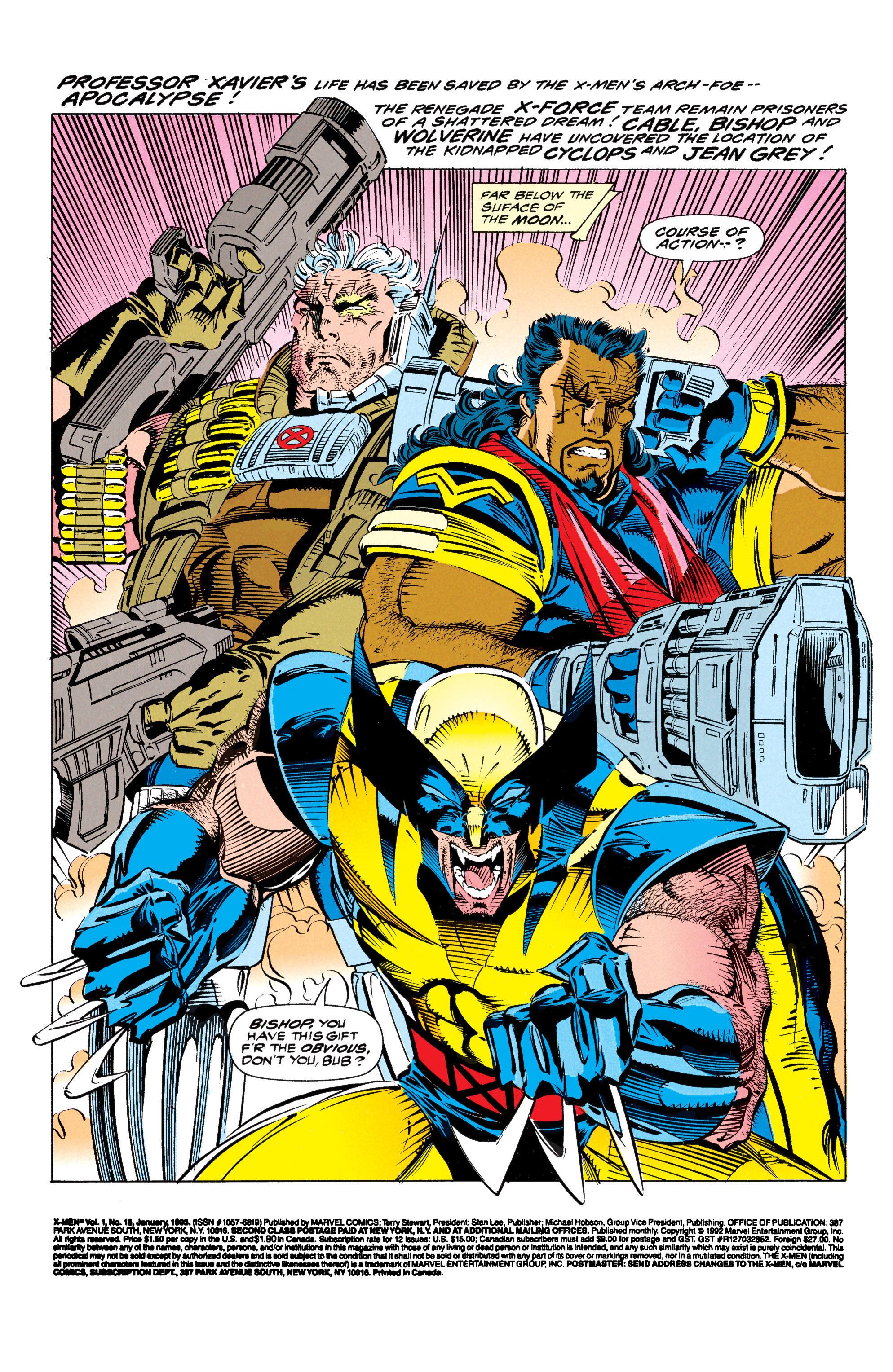 X-Men (1991) 16 Page 1