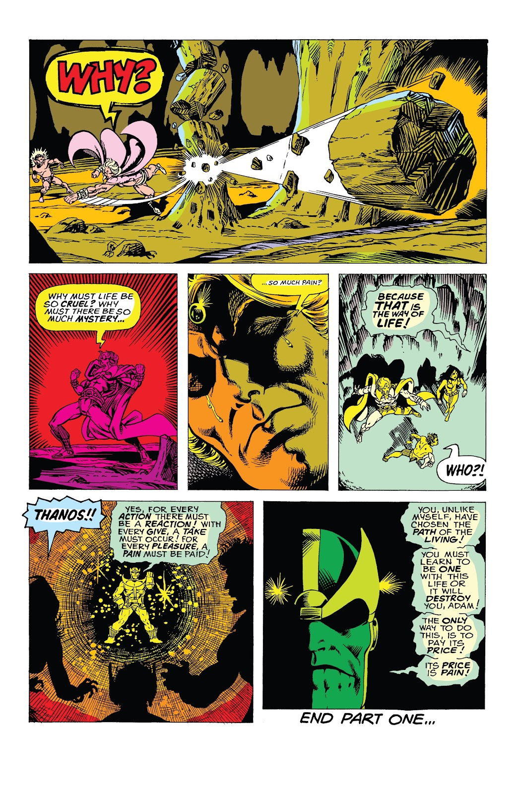 Read online Marvel Tales: Thanos comic -  Issue # Full - 15