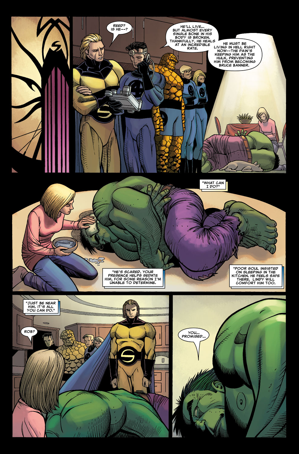 Read online Sentry (2006) comic -  Issue #3 - 21