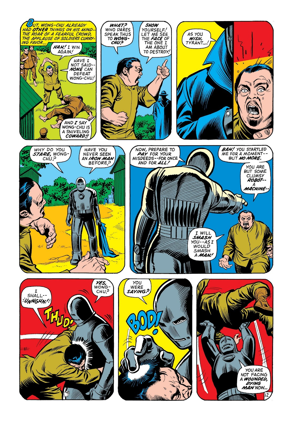 Read online Marvel Masterworks: The Invincible Iron Man comic -  Issue # TPB 8 (Part 2) - 78
