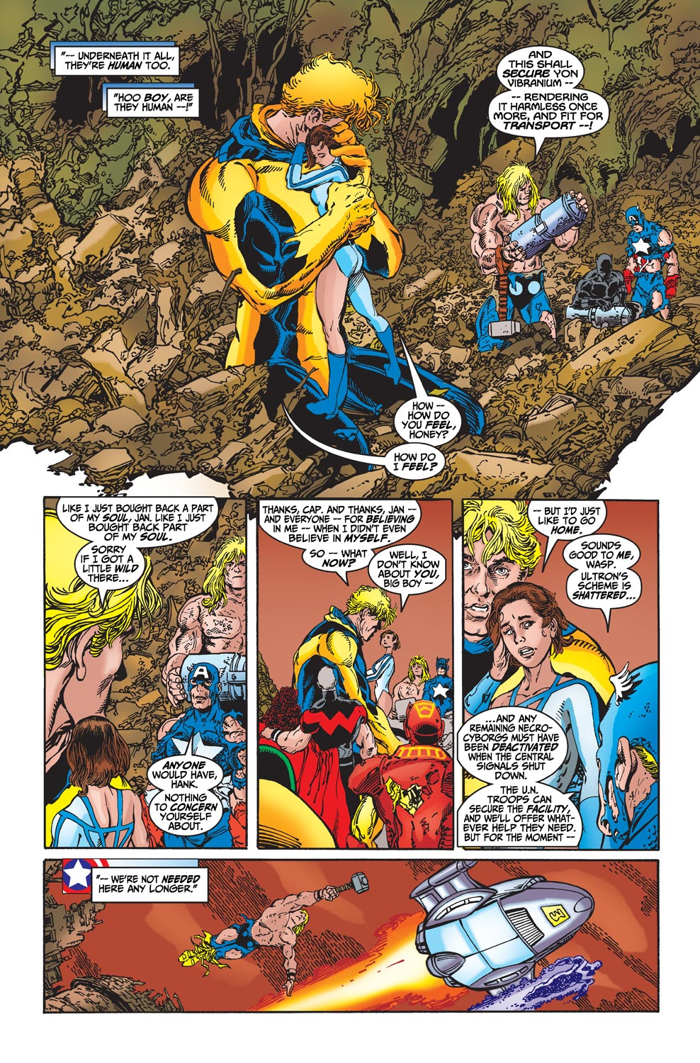 Read online Avengers (1998) comic -  Issue #22 - 22