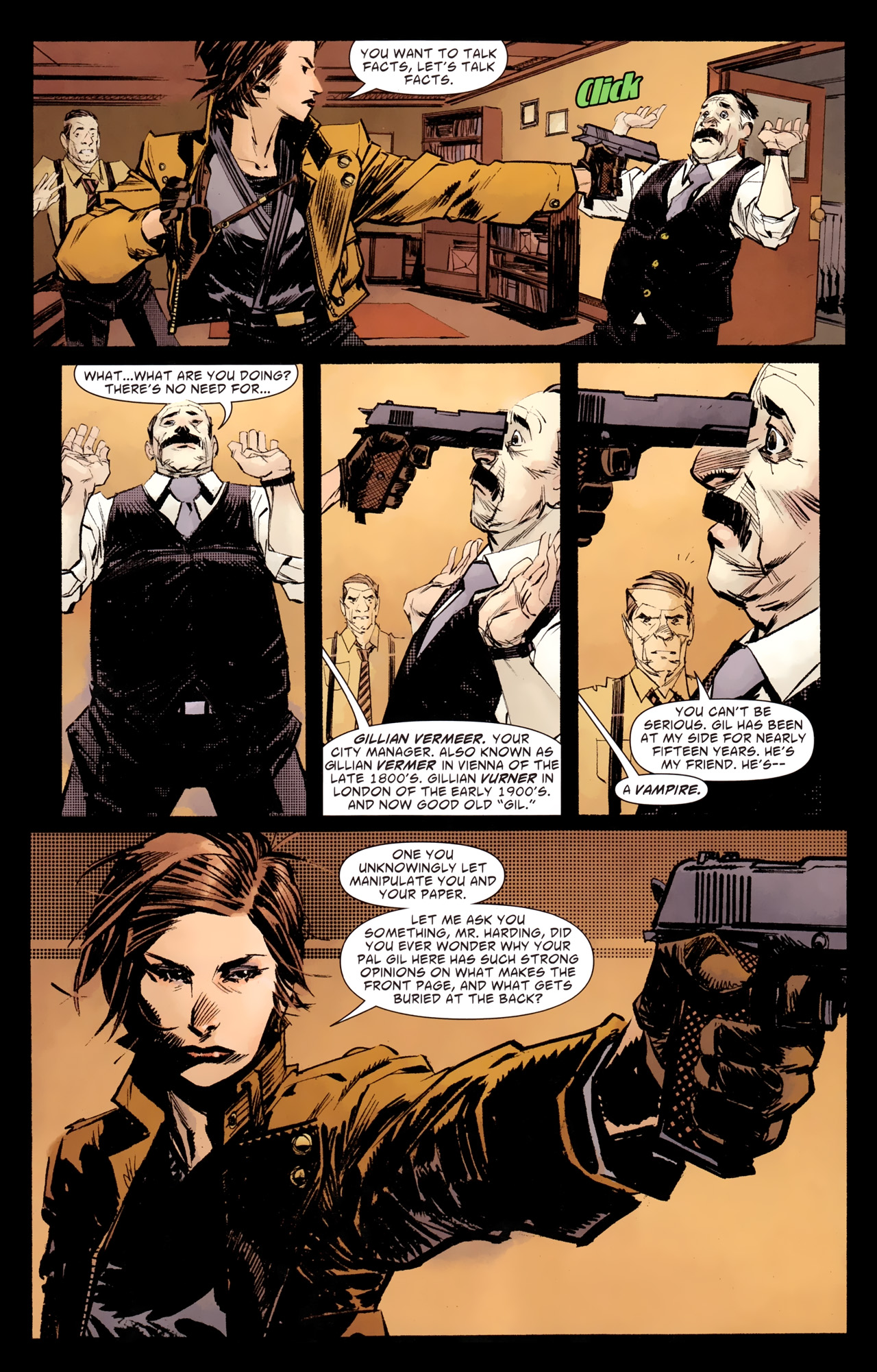 Read online American Vampire: Survival of the Fittest comic -  Issue #1 - 6
