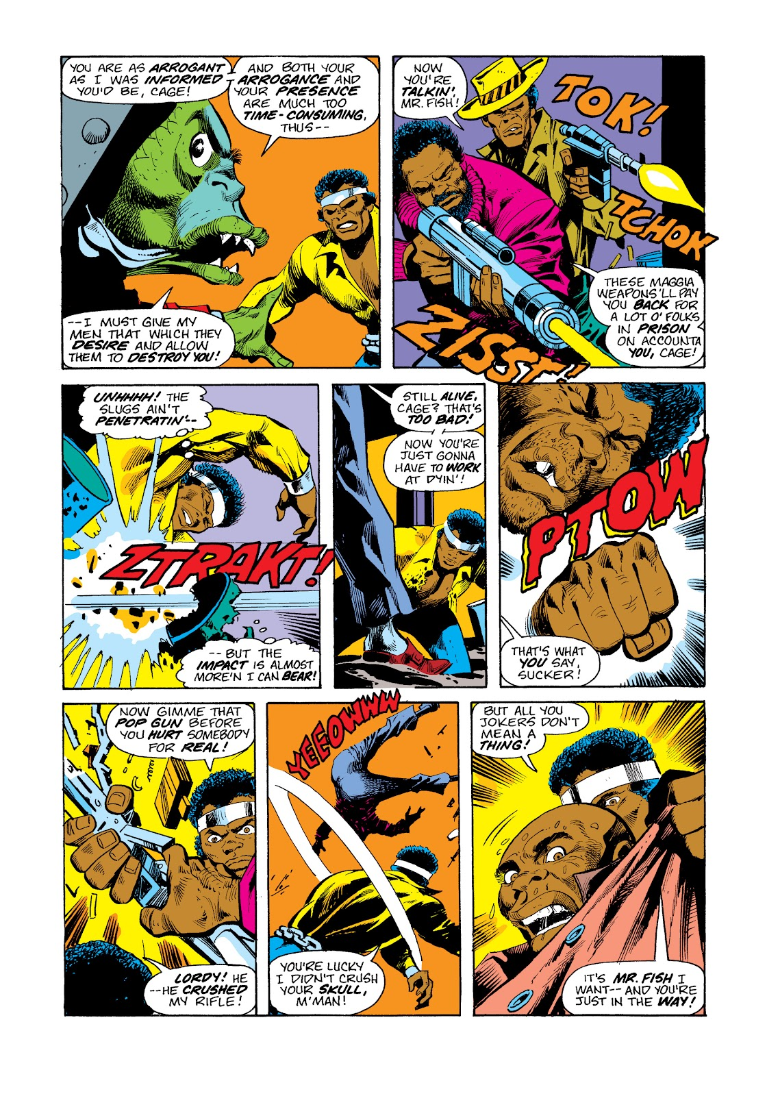 Read online Marvel Masterworks: Luke Cage, Power Man comic -  Issue # TPB 2 (Part 3) - 47