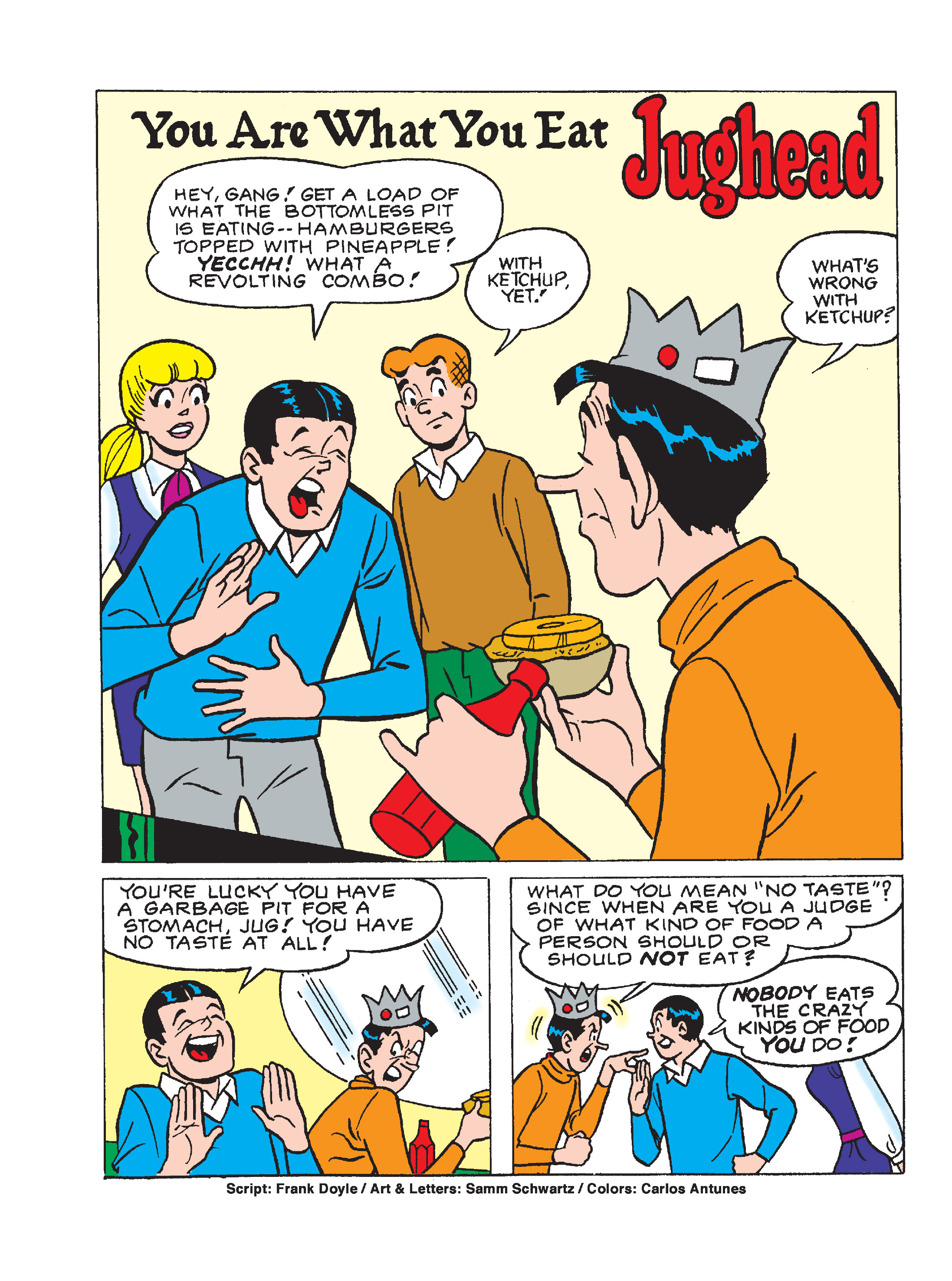 Read online World of Archie Double Digest comic -  Issue #64 - 93