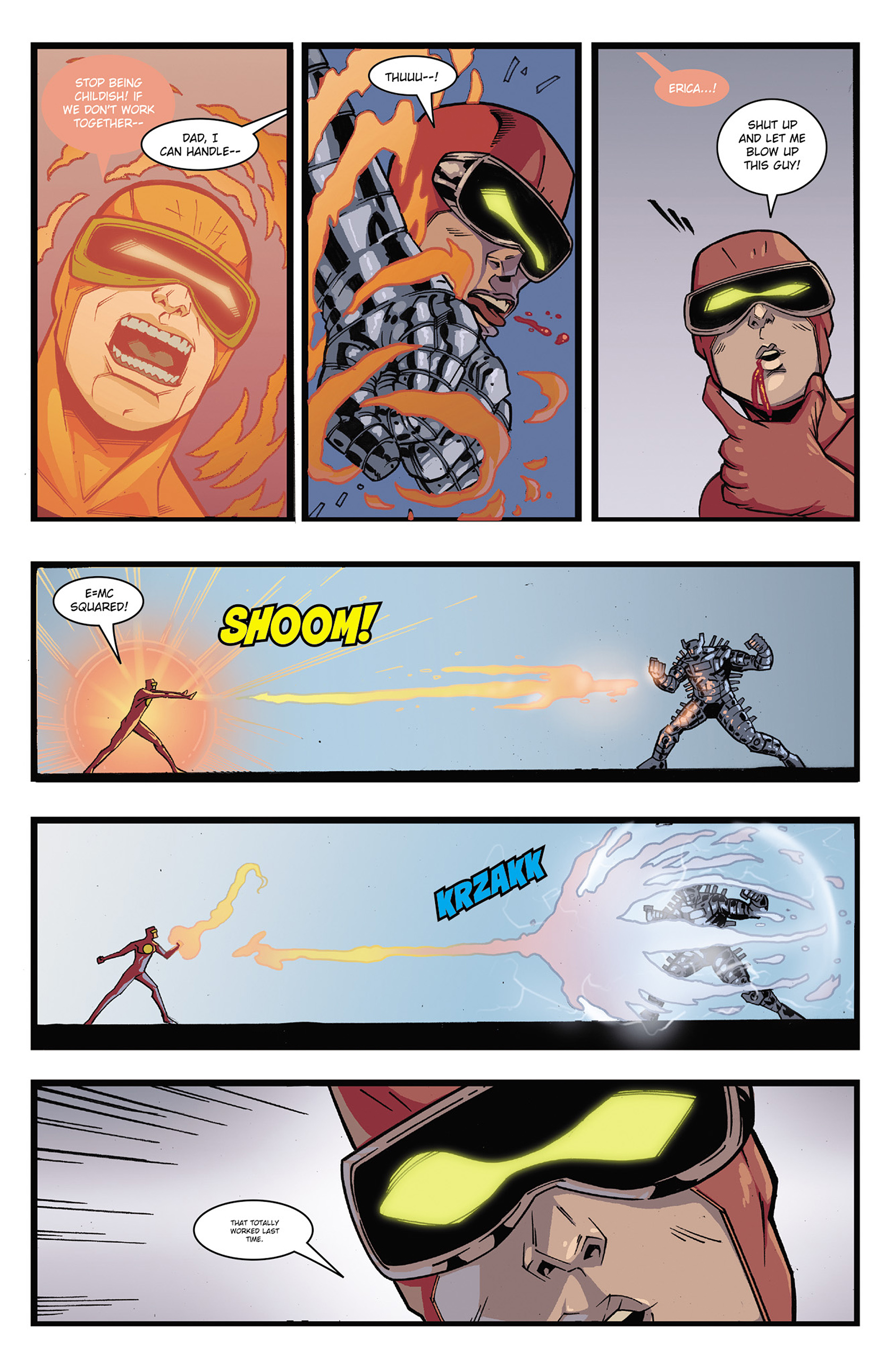 Read online Solar: Man of the Atom (2014) comic -  Issue #3 - 18