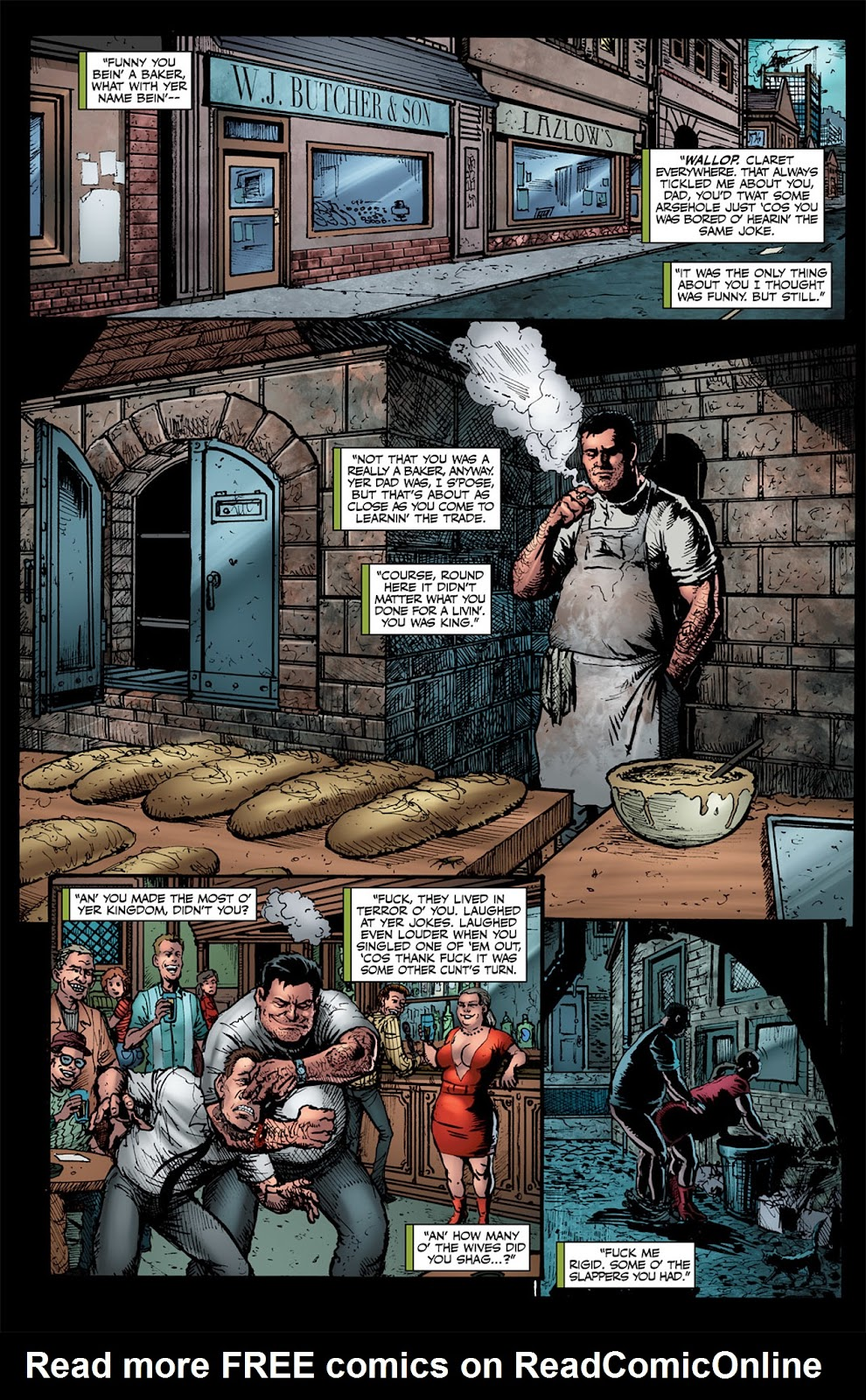 Read online The Boys: Butcher, Baker, Candlestickmaker comic -  Issue #1 - 12