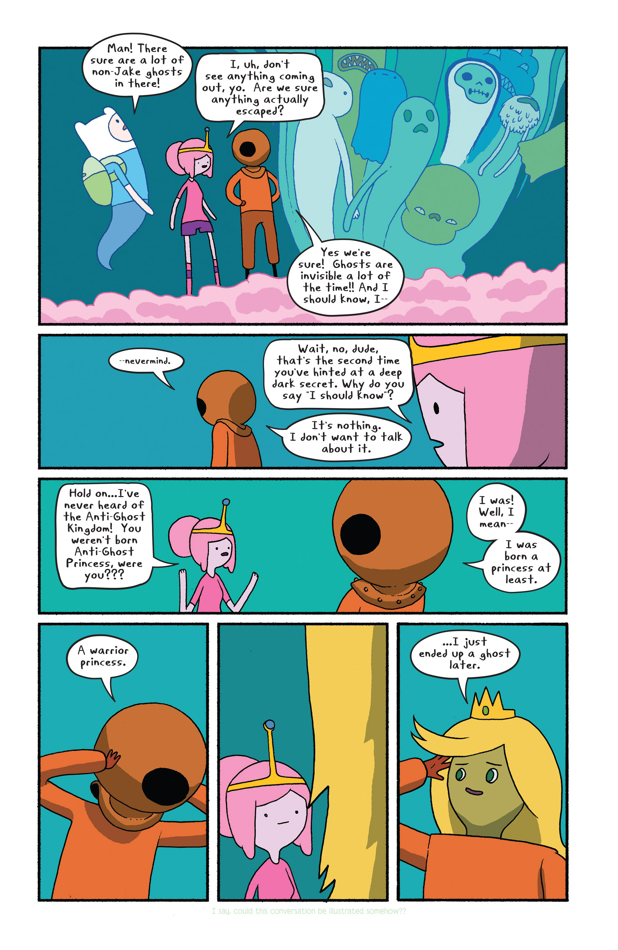 Read online Adventure Time comic -  Issue #28 - 11