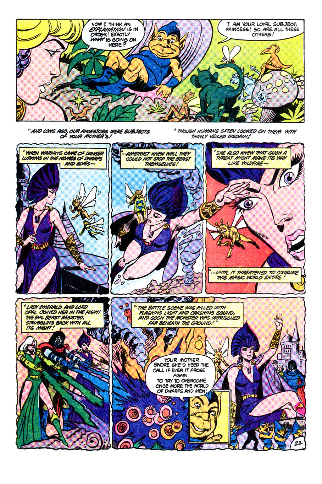 Read online Amethyst, Princess of Gemworld comic -  Issue # _Annual 1 - 23