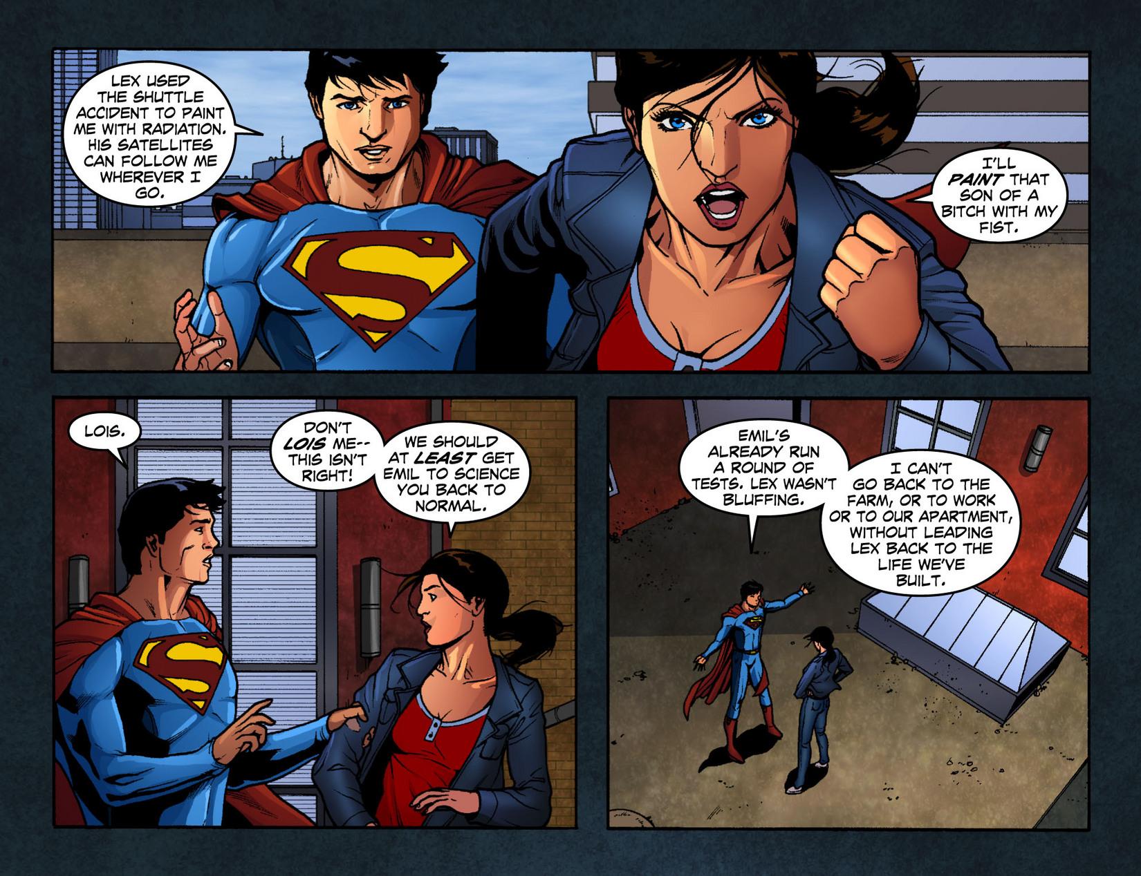 Read online Smallville: Season 11 comic -  Issue #12 - 13