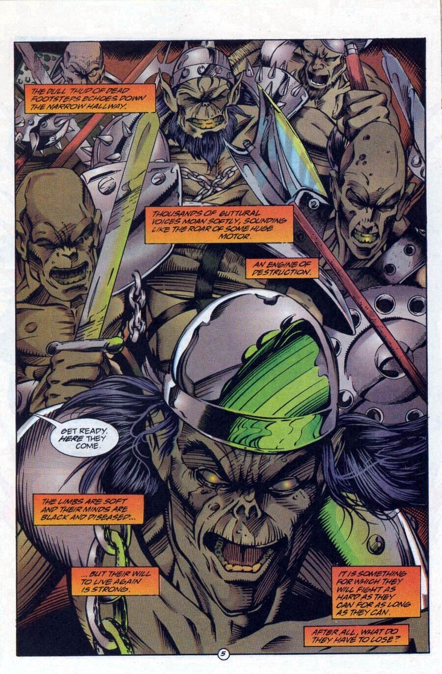 Read online Ex-Mutants comic -  Issue #17 - 6