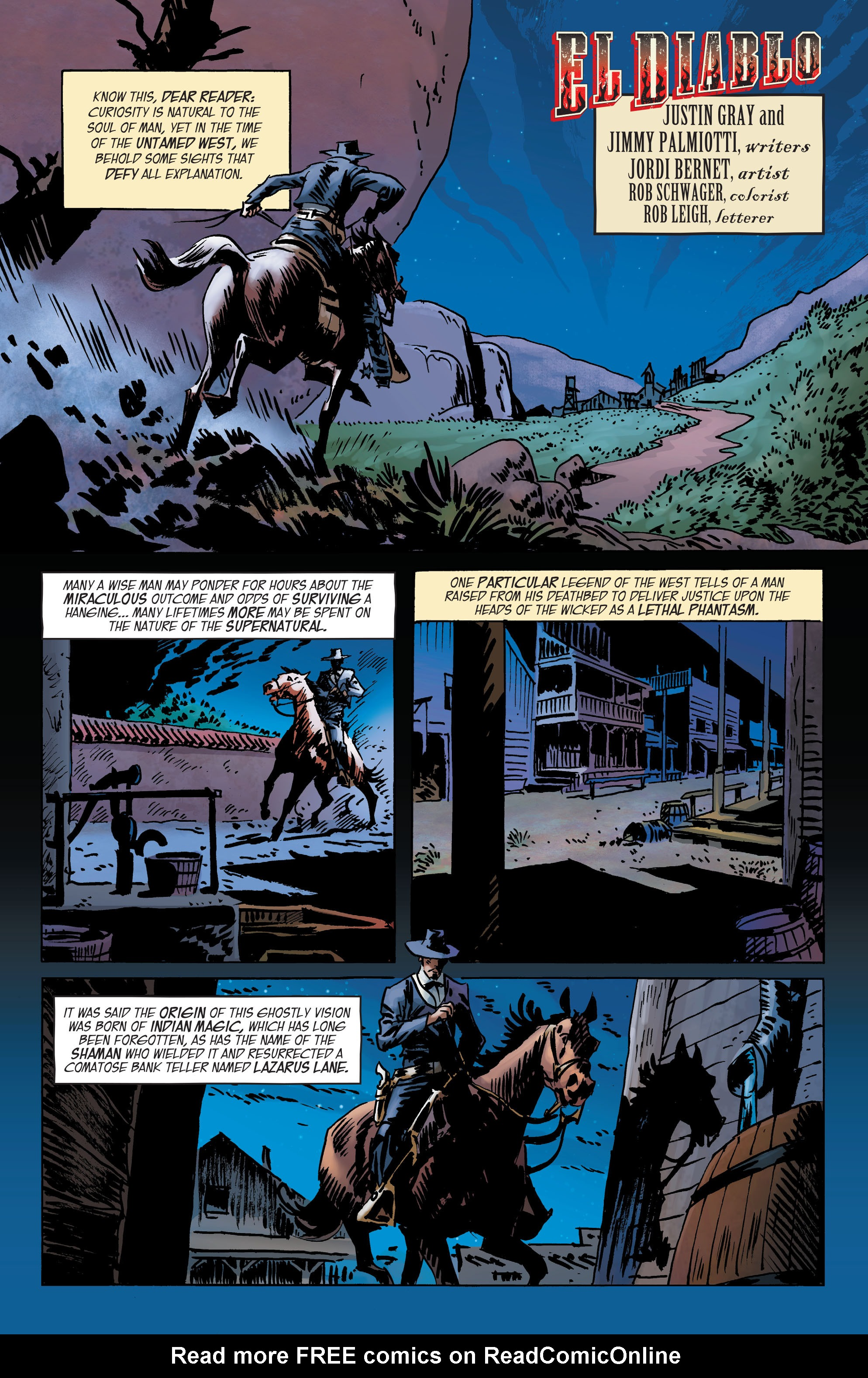 Read online All-Star Western (2011) comic -  Issue #2 - 21