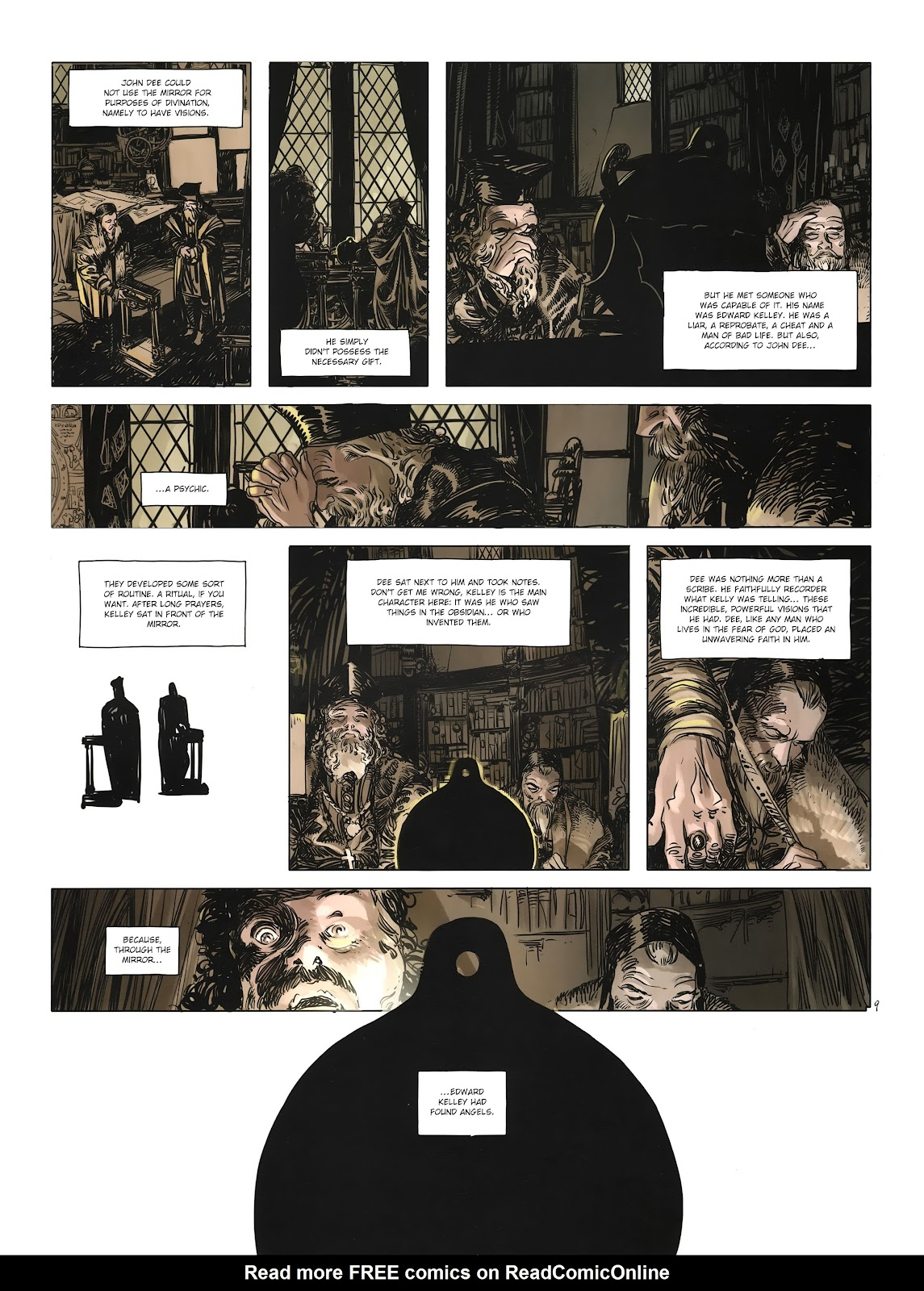 Read online Cutting Edge (2013) comic -  Issue #3 - 11