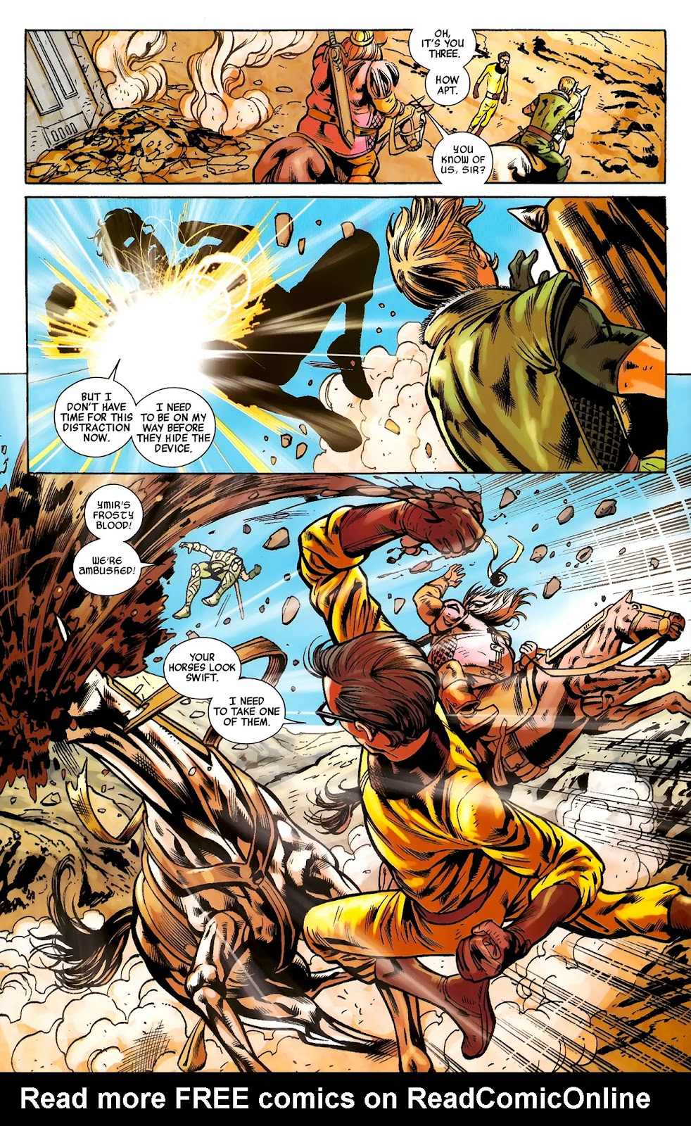 Warriors Three Issue #2 #2 - English 22