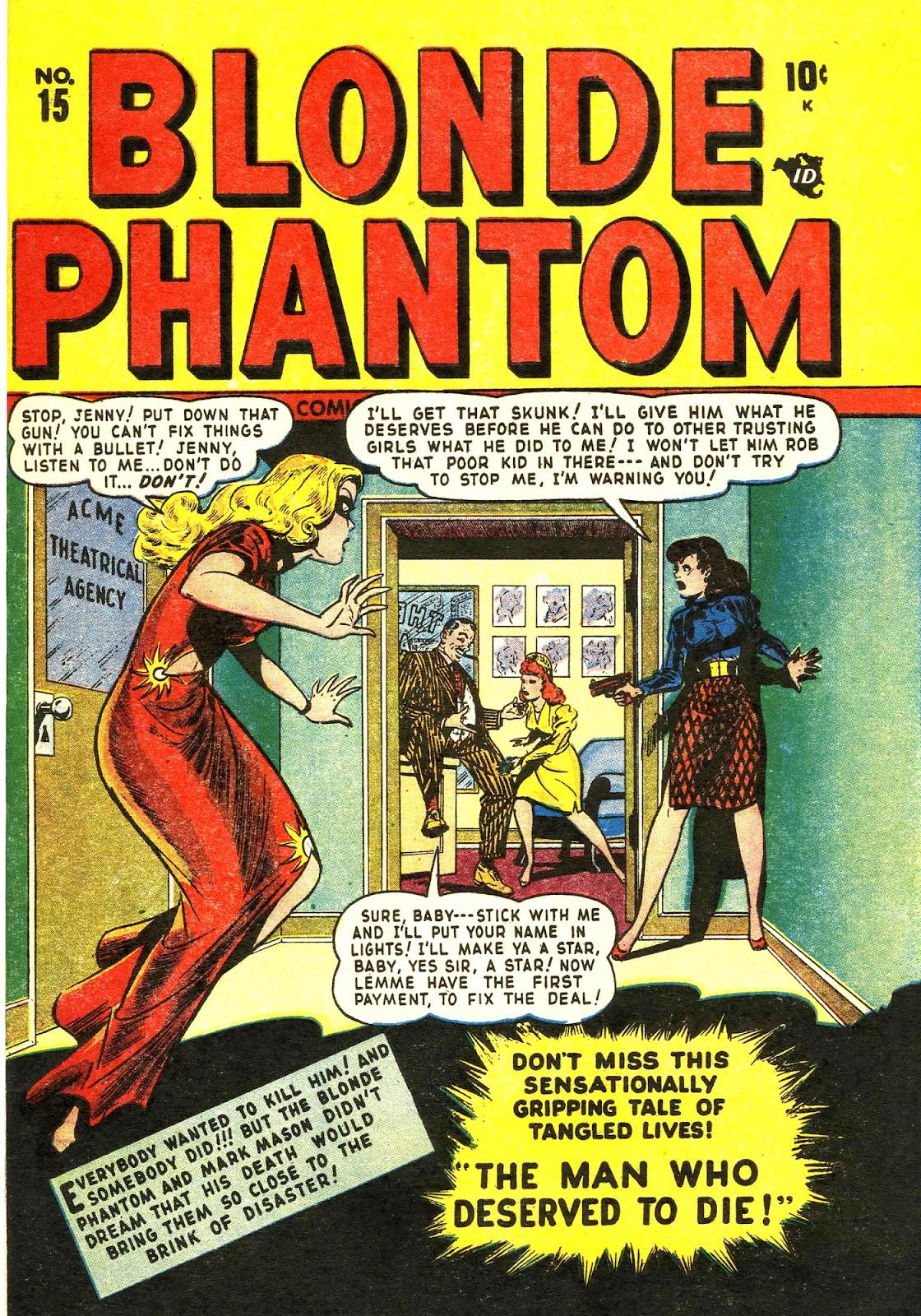 Blonde Phantom Comics 15 Page 1