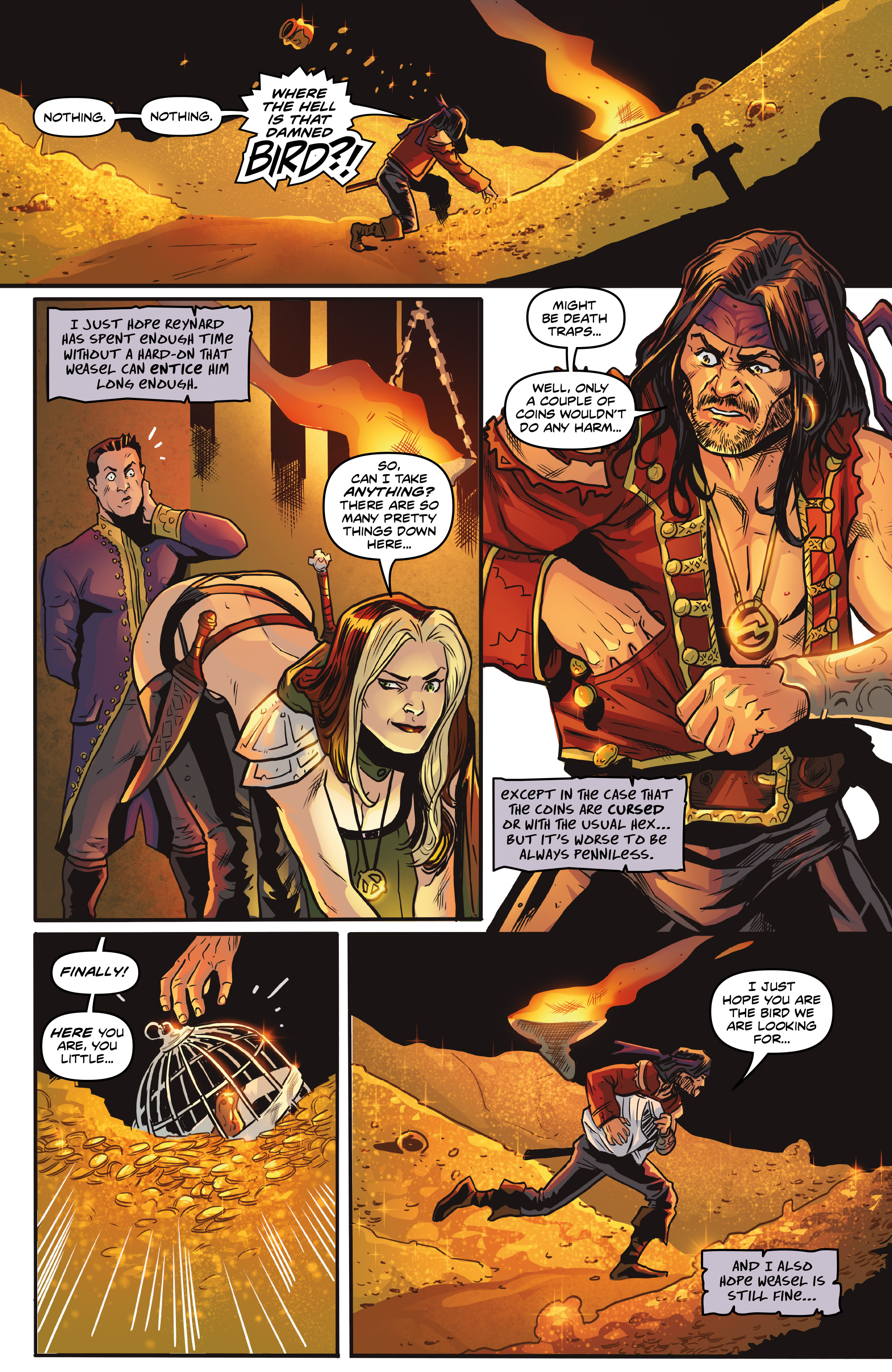 Read online Rogues!: The Burning Heart comic -  Issue #5 - 16