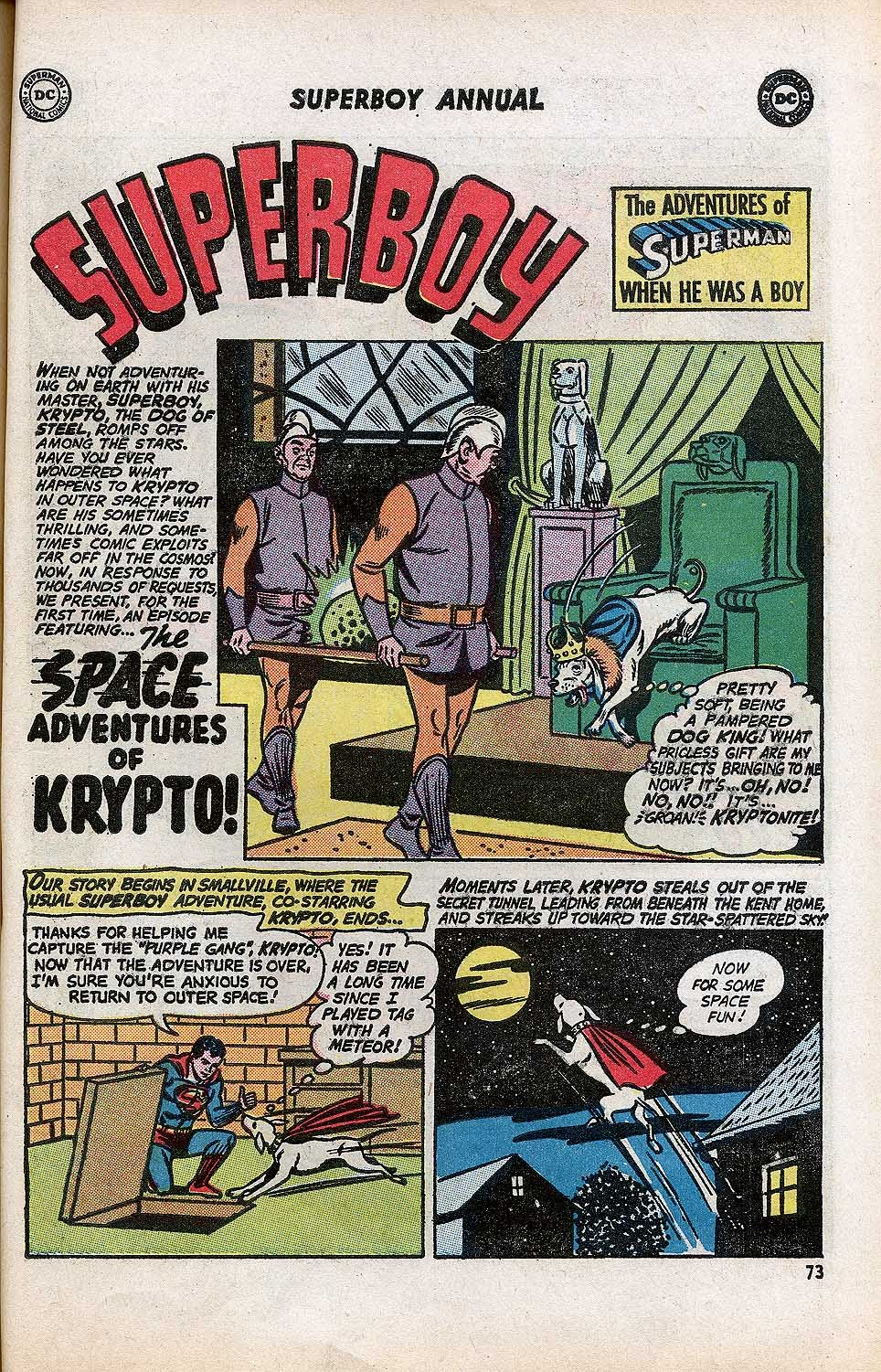 Superboy (1949) issue Annual 1 - Page 75