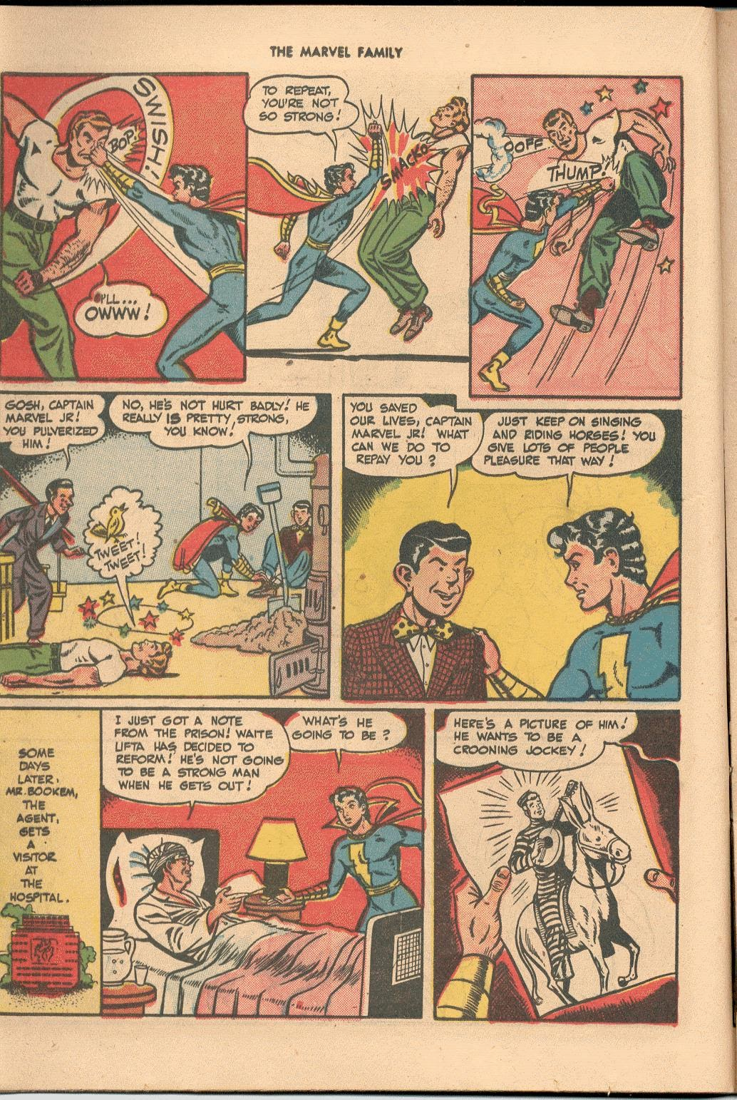 The Marvel Family issue 38 - Page 22