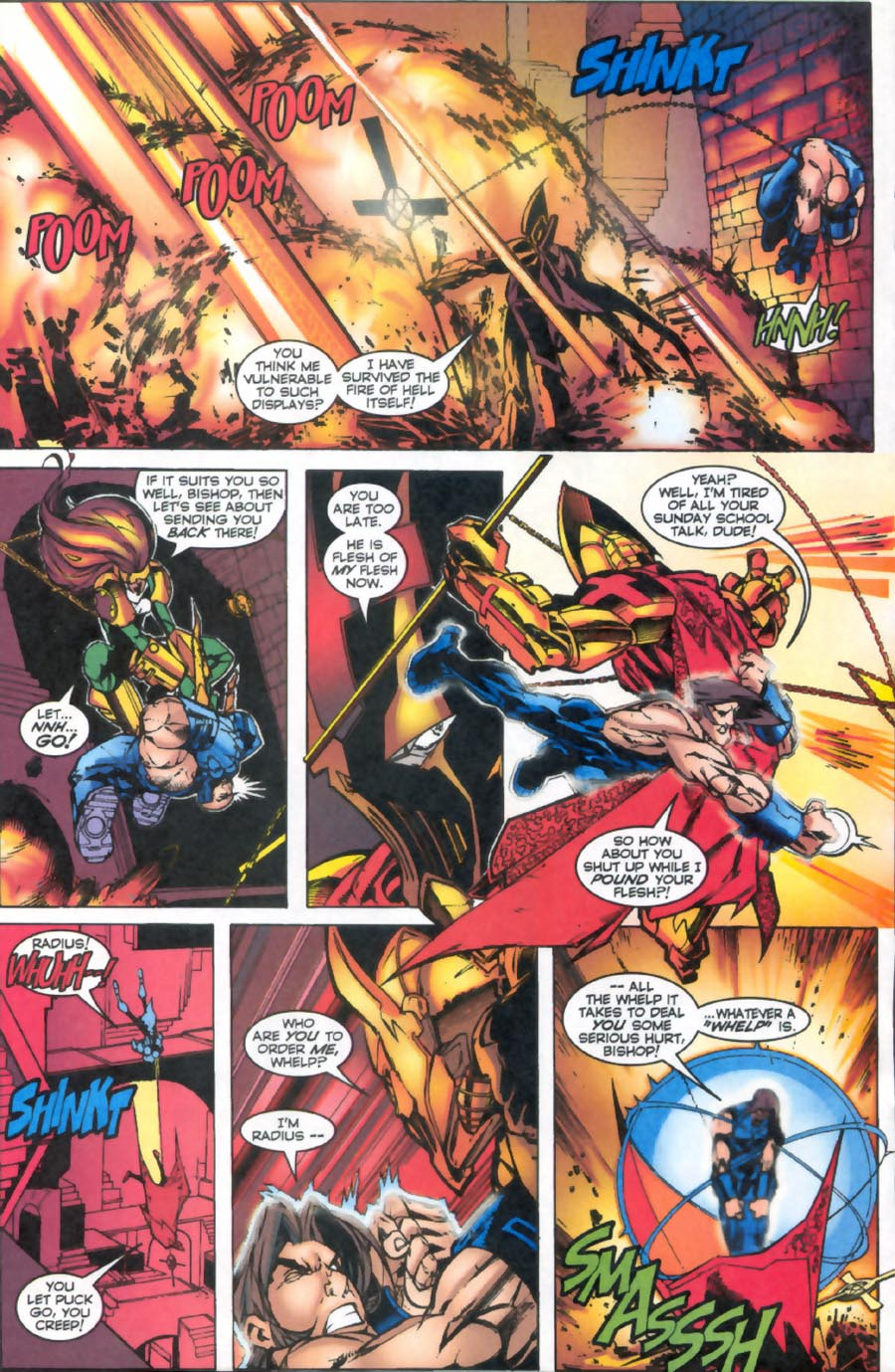 Read online Alpha Flight (1997) comic -  Issue #16 - 14