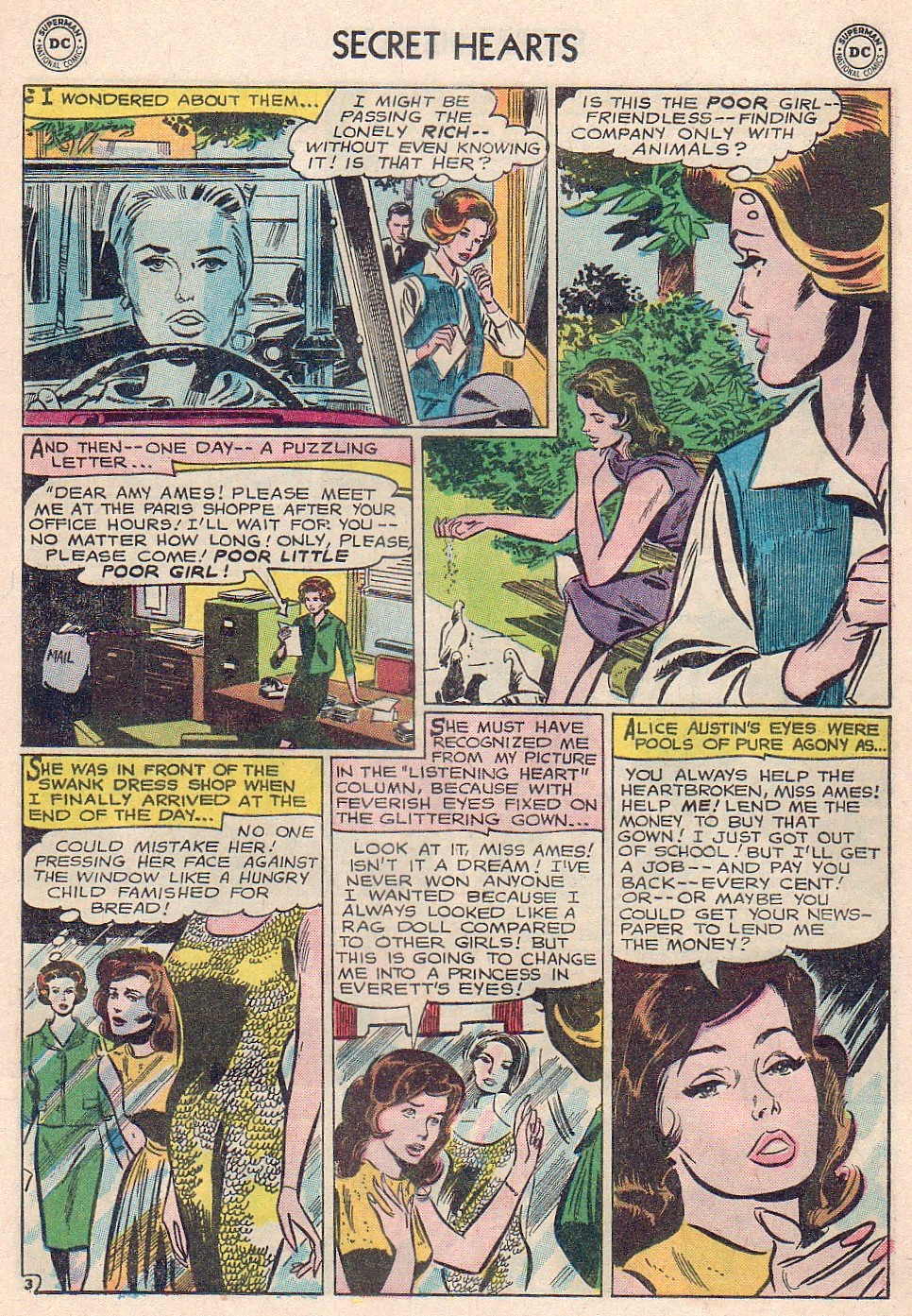 Read online Secret Hearts comic -  Issue #102 - 21