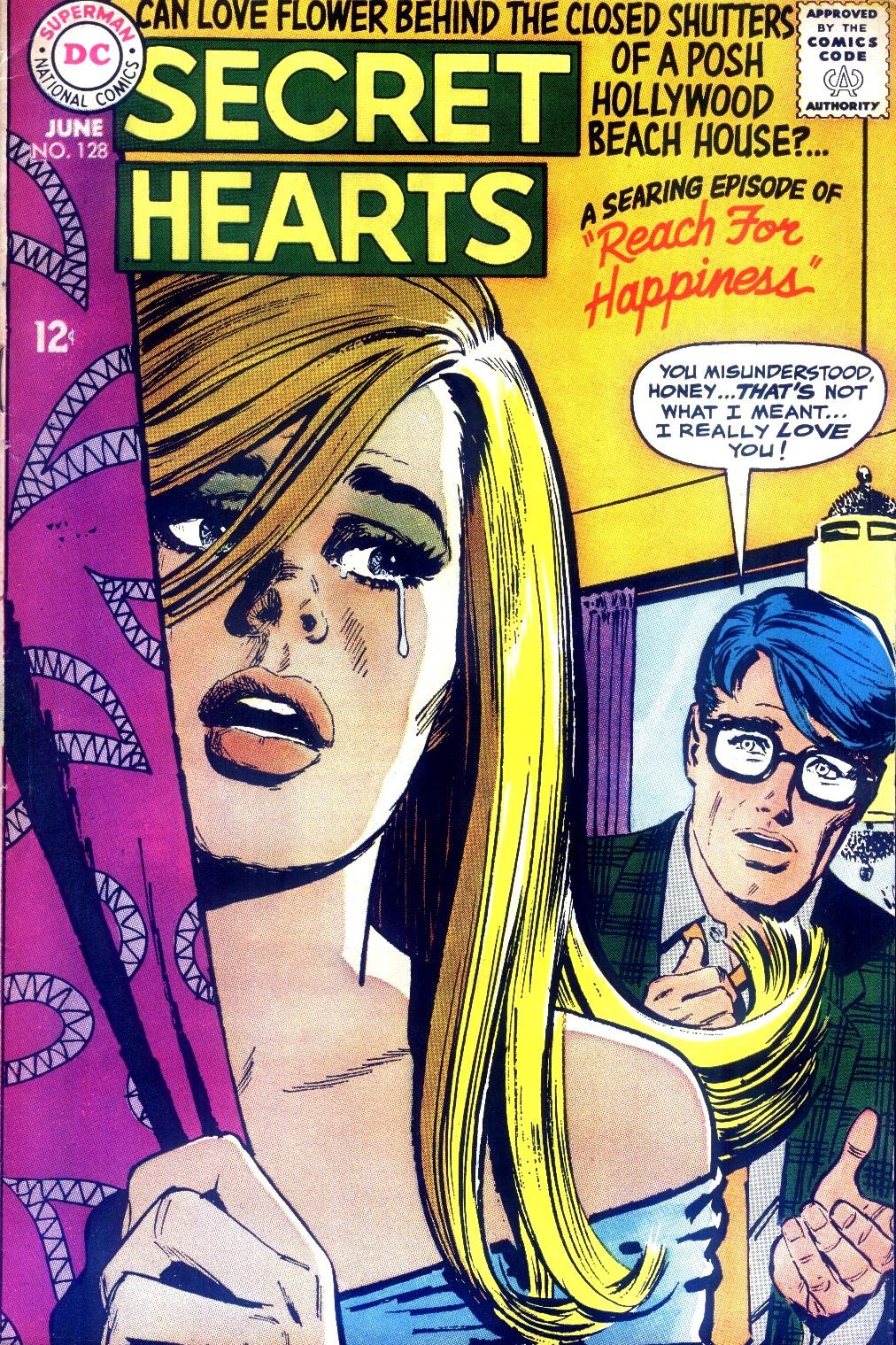 Read online Secret Hearts comic -  Issue #128 - 1