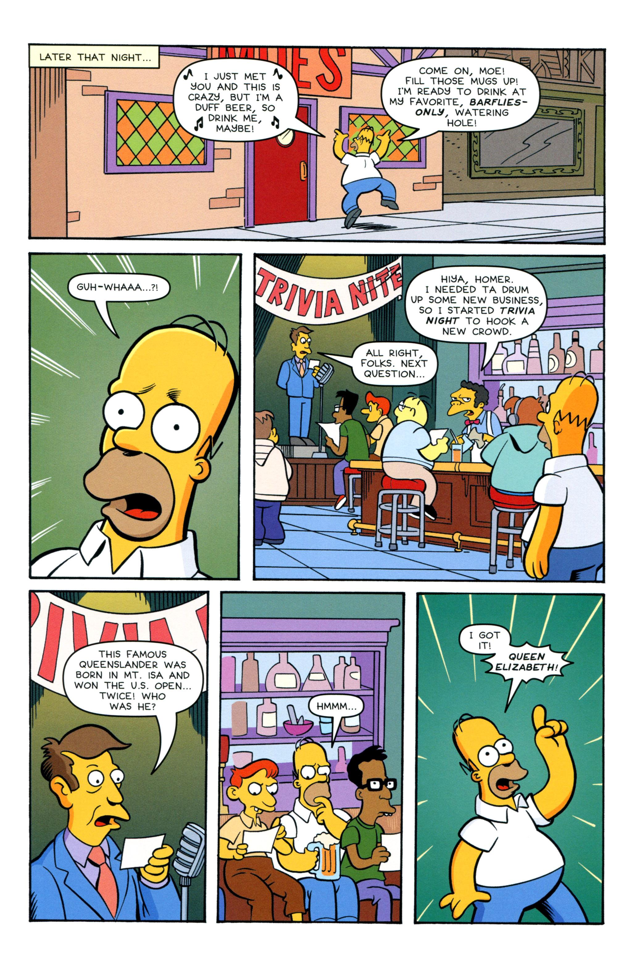 Read online Simpsons Comics comic -  Issue #212 - 6