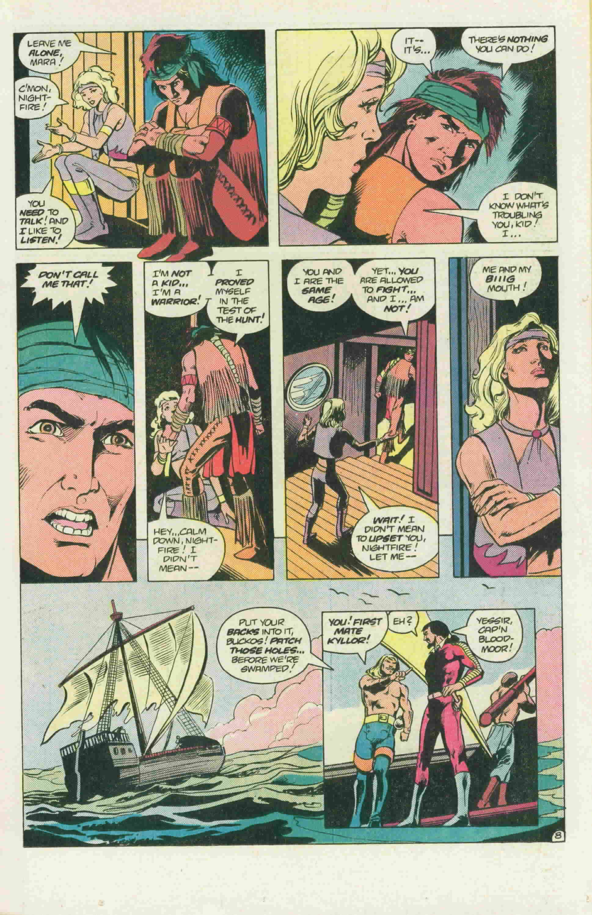 Read online Arion, Lord of Atlantis comic -  Issue #22 - 12