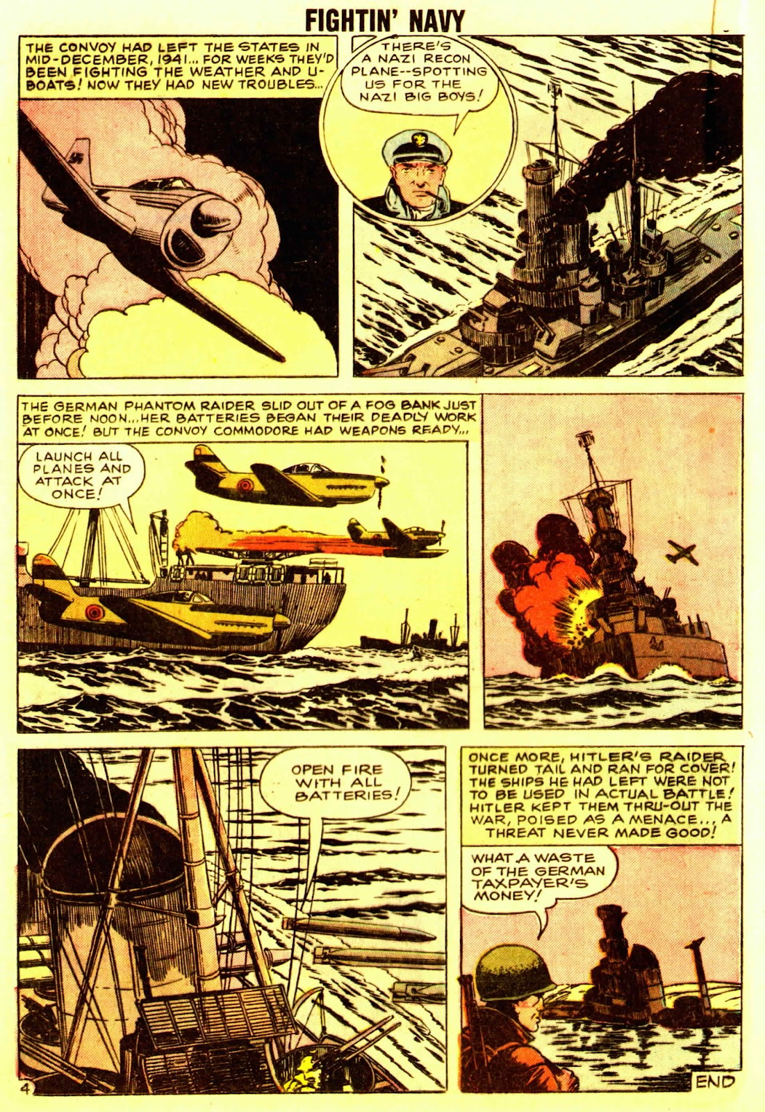 Read online Fightin' Navy comic -  Issue #83 - 36