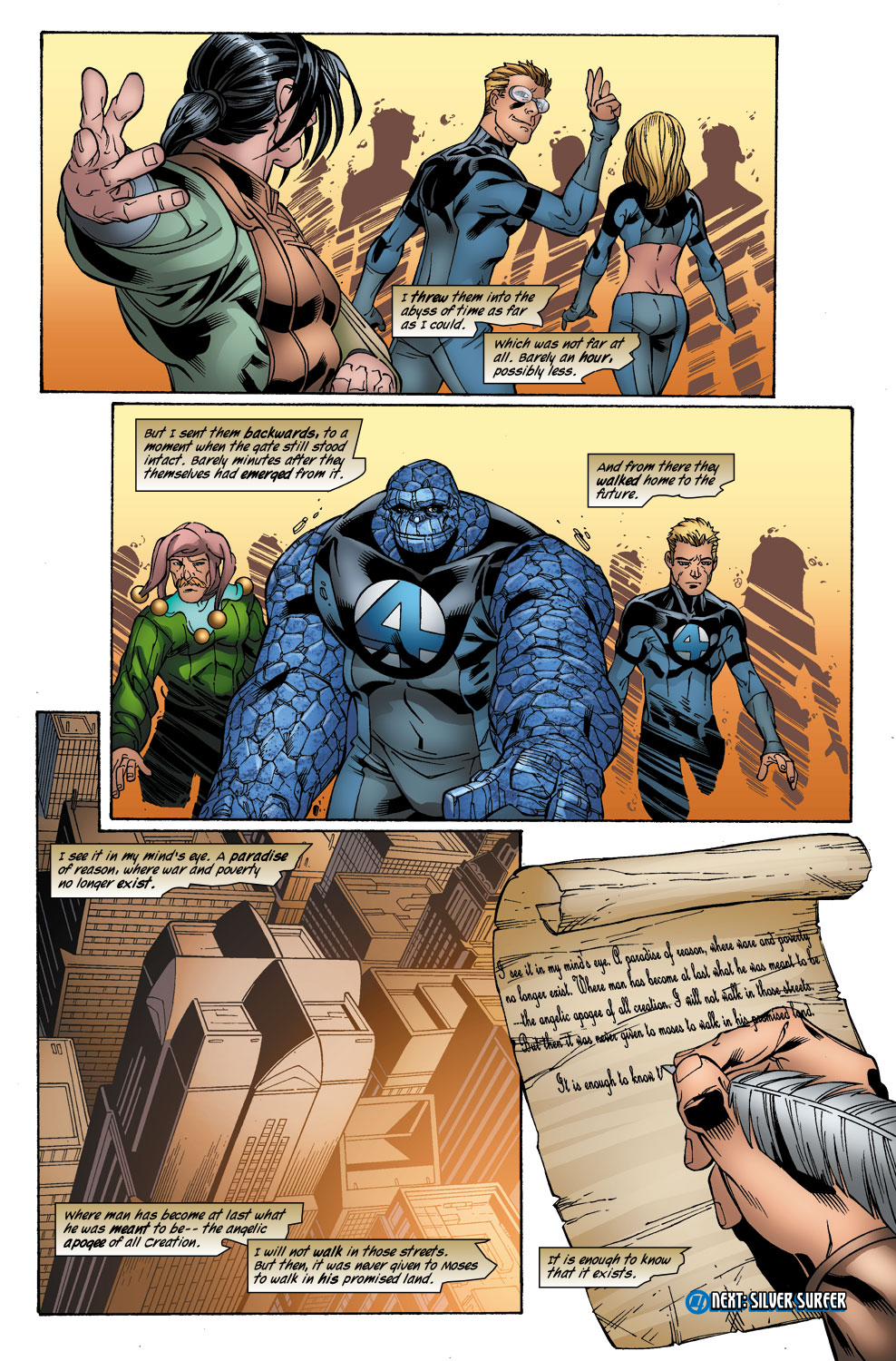 Read online Ultimate Fantastic Four (2004) comic -  Issue #41 - 25