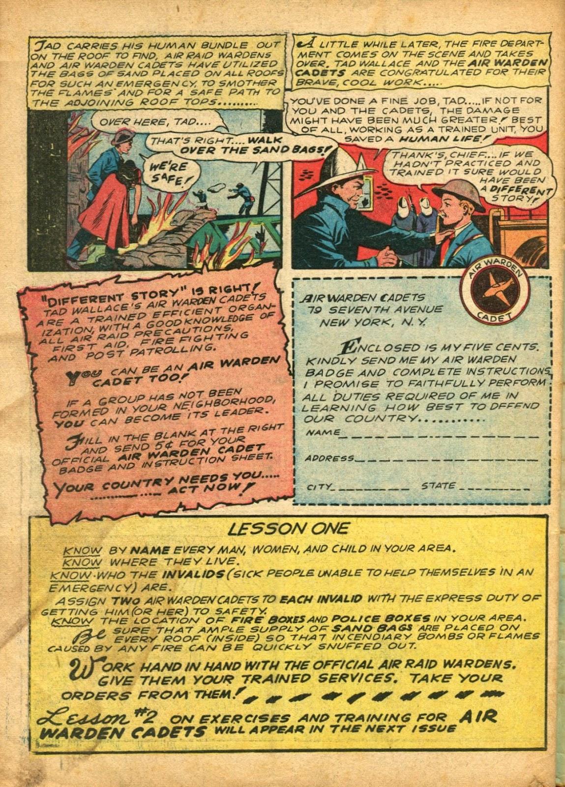 Read online Super-Magician Comics comic -  Issue #5 - 65