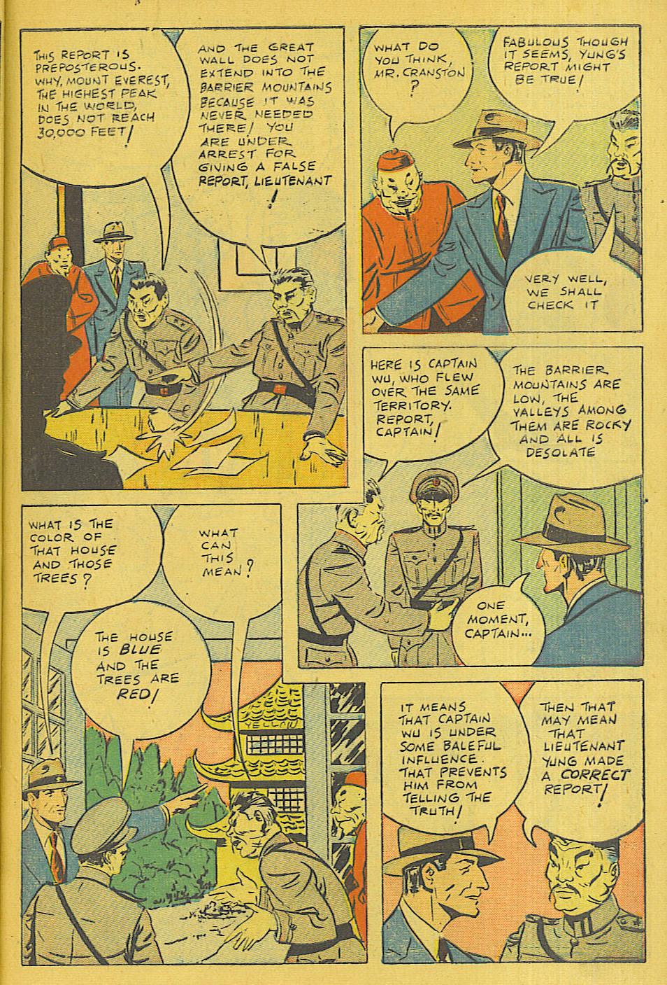 Read online Shadow Comics comic -  Issue #71 - 25