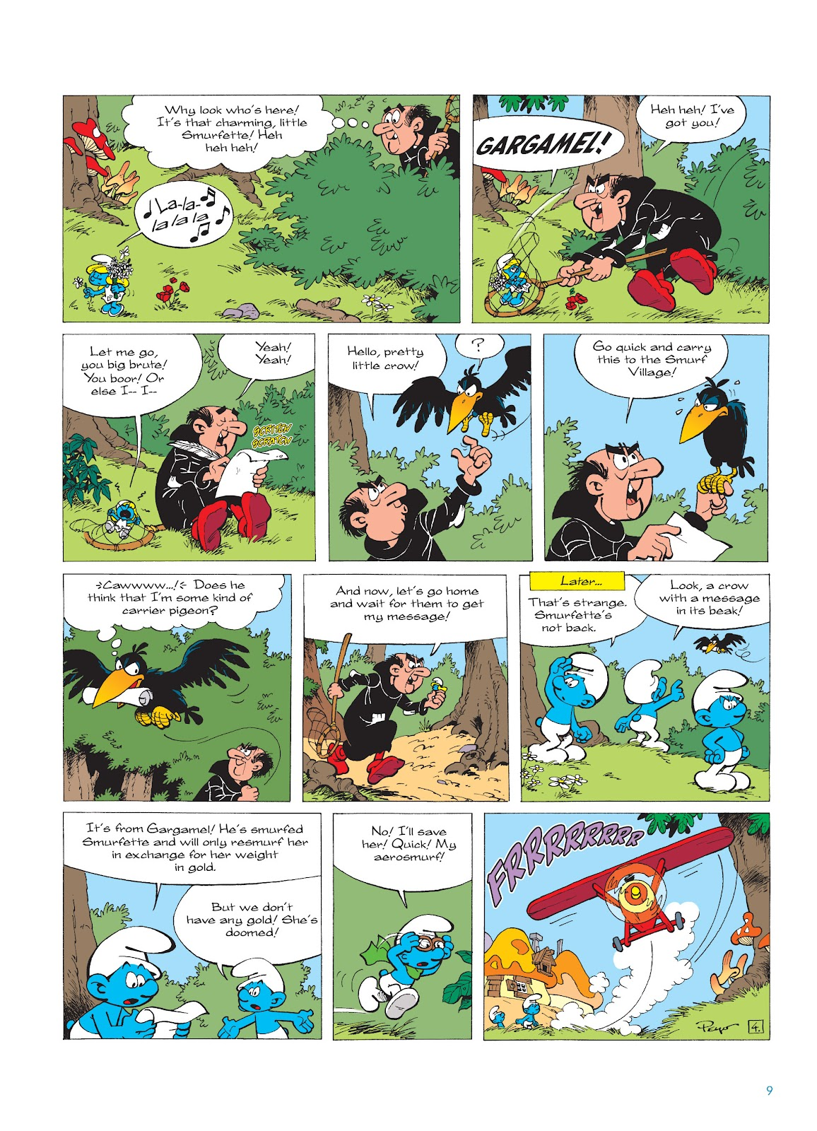 Read online The Smurfs comic -  Issue #16 - 10