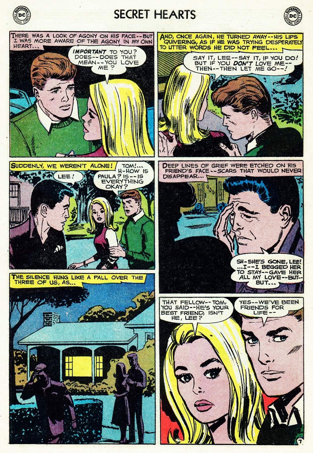 Read online Secret Hearts comic -  Issue #105 - 9