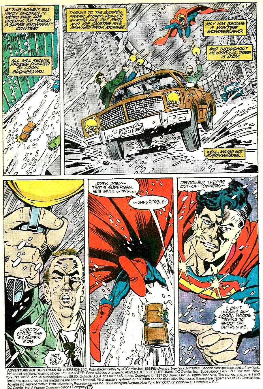 Read online Adventures of Superman (1987) comic -  Issue #431 - 2