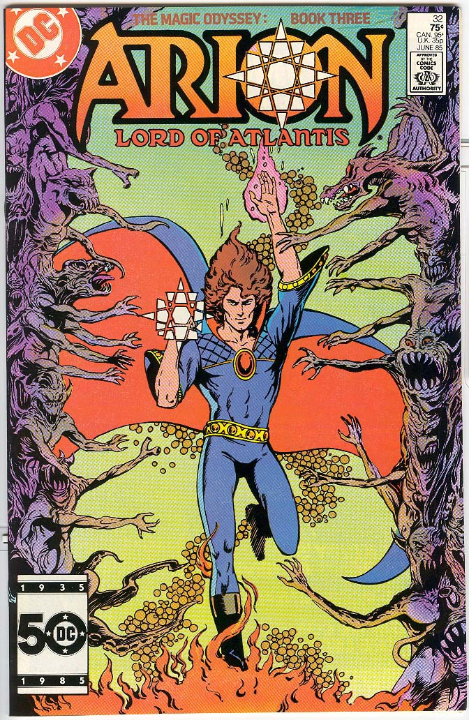 Read online Arion, Lord of Atlantis comic -  Issue #32 - 1