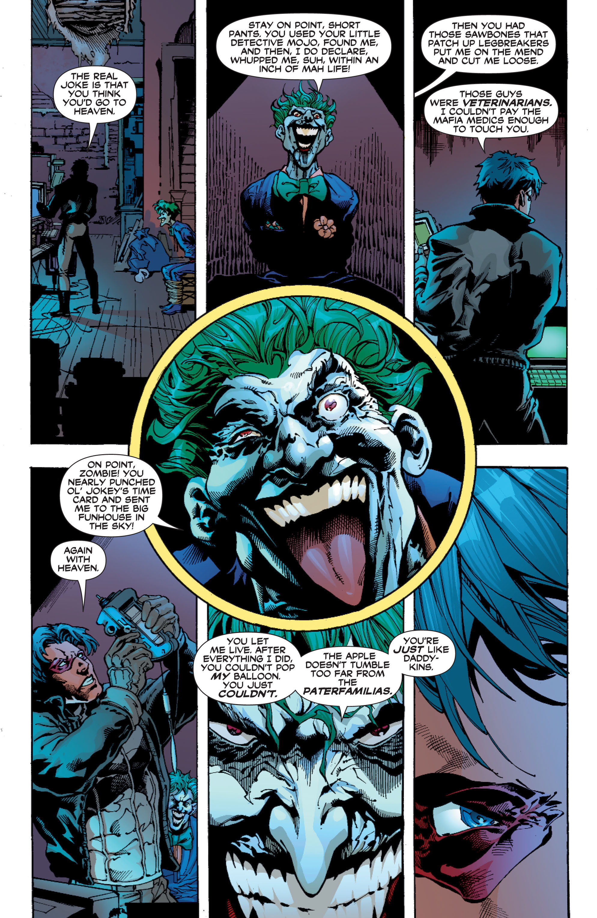 Read online Batman: Under The Red Hood comic -  Issue # Full - 280