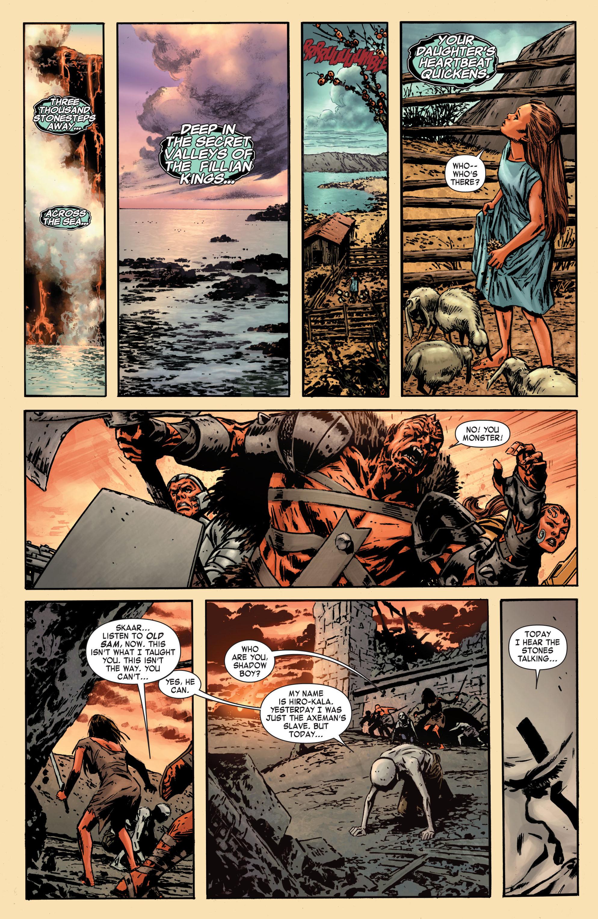 Read online Skaar: Son of Hulk comic -  Issue #7 - 11