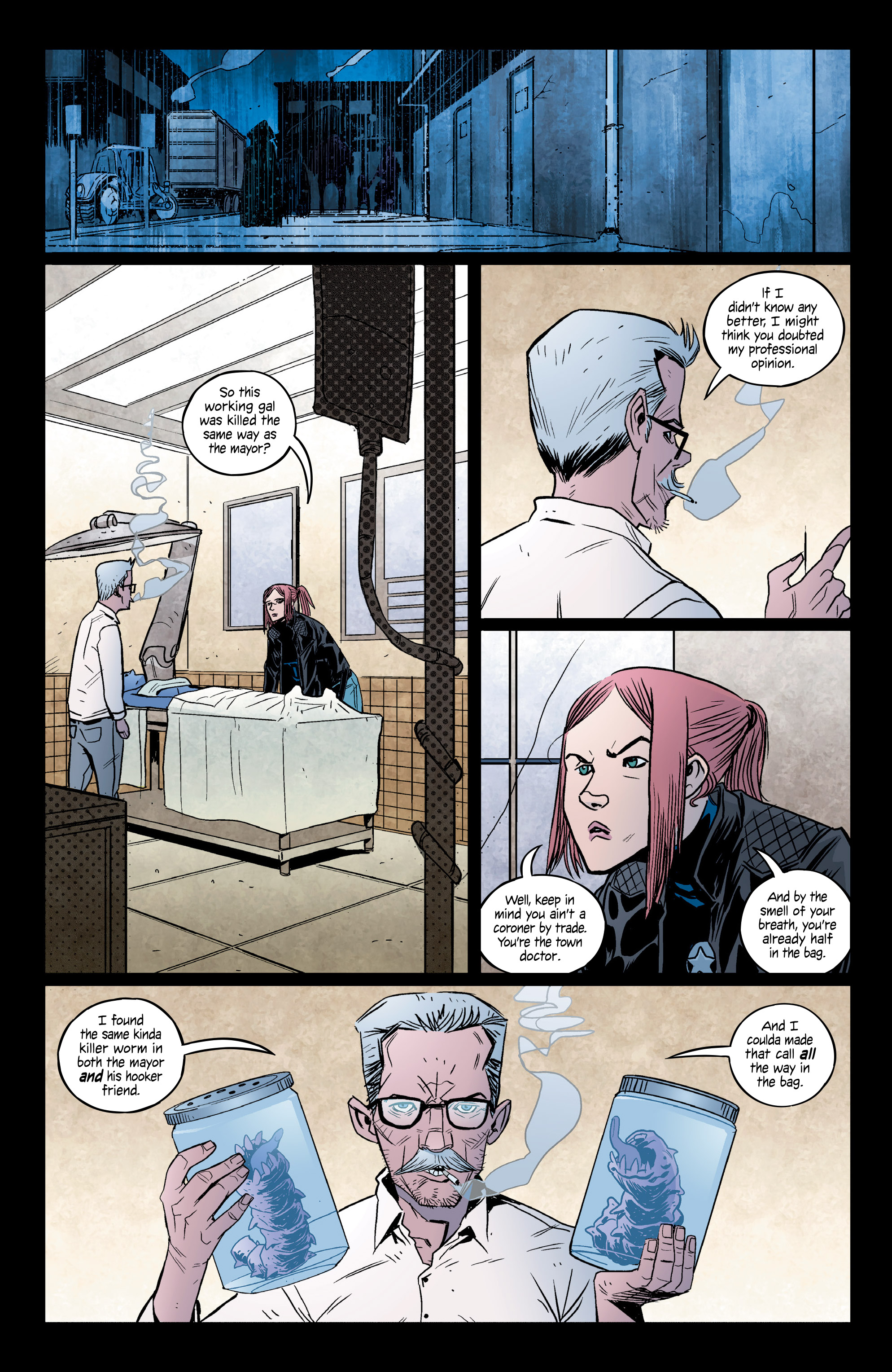 Read online Copperhead comic -  Issue #14 - 5