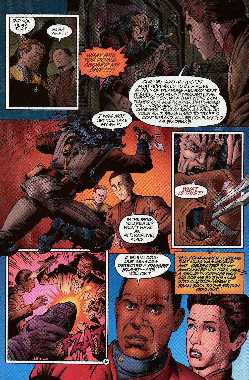 Read online Star Trek: Deep Space Nine (1993) comic -  Issue # _Special 1 - 10