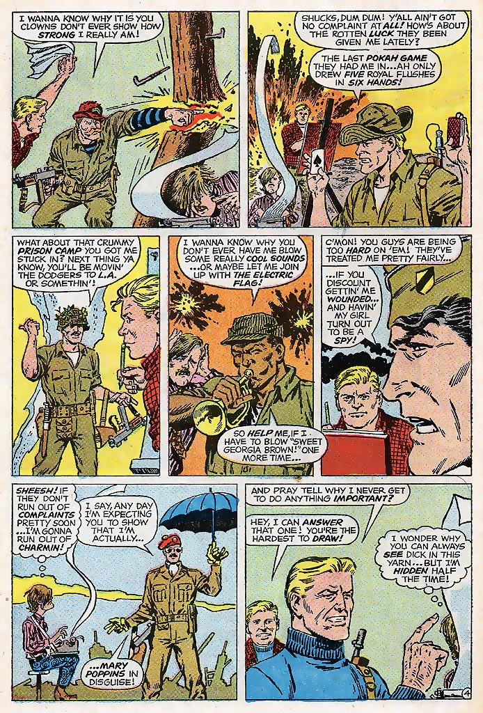 Read online Sgt. Fury comic -  Issue # _Special 4 - 64
